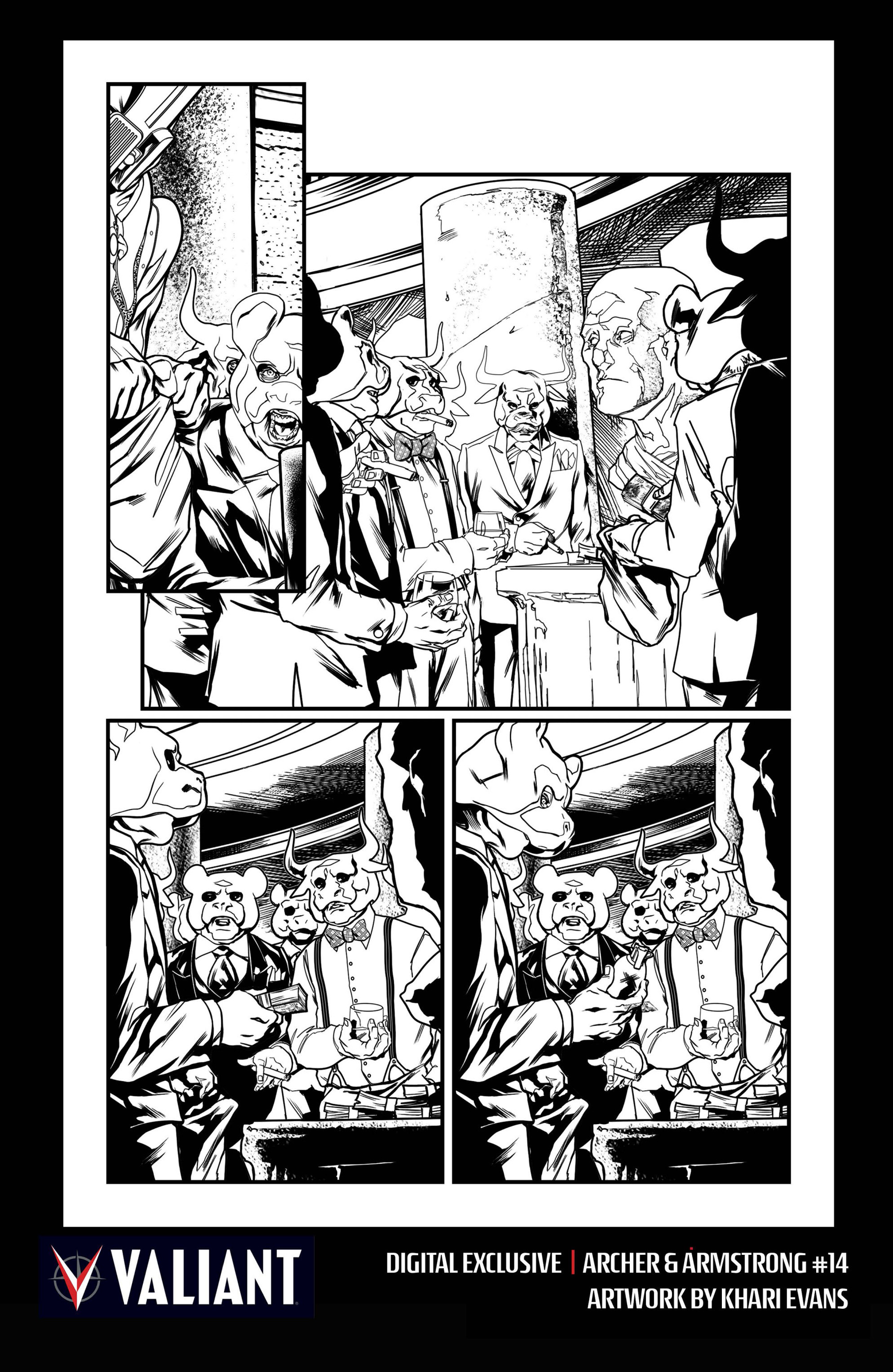 Archer and Armstrong 14 Page 27