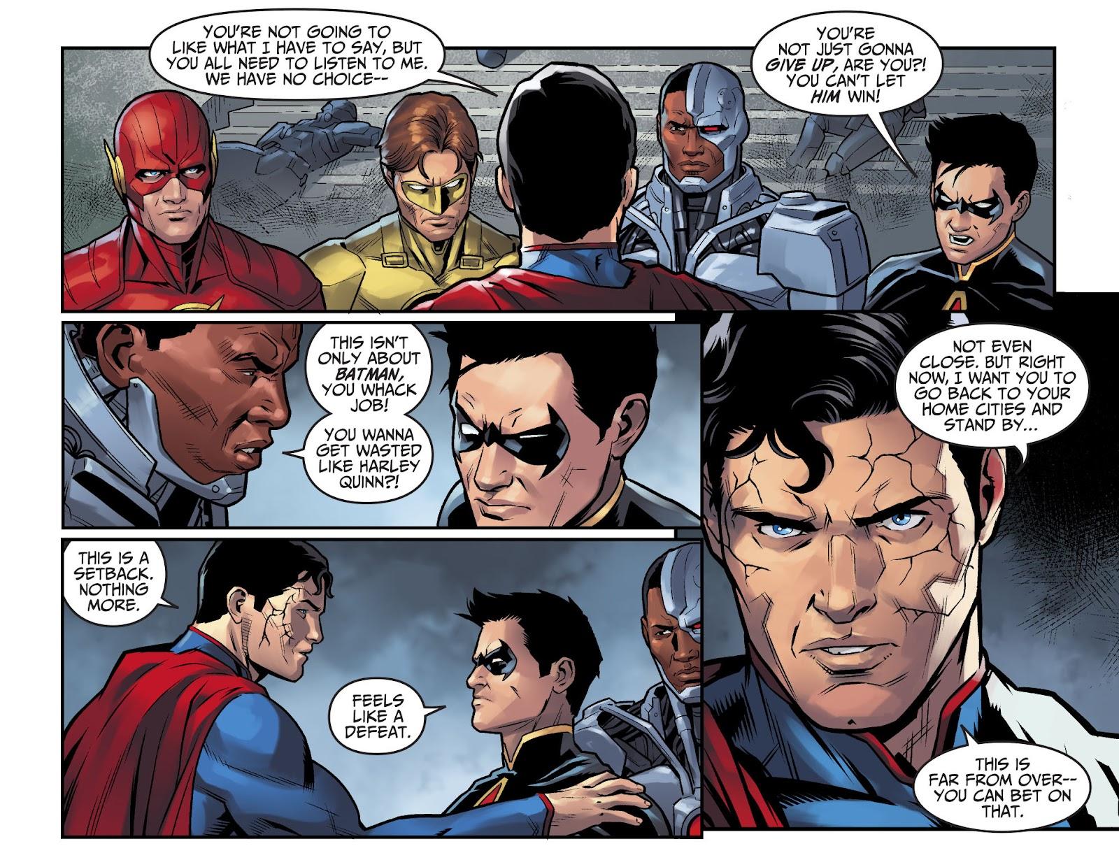 Injustice: Gods Among Us Year Four Issue #15 #16 - English 15