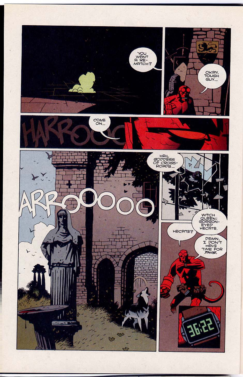 Hellboy: Wake the Devil Issue #4 #4 - English 4