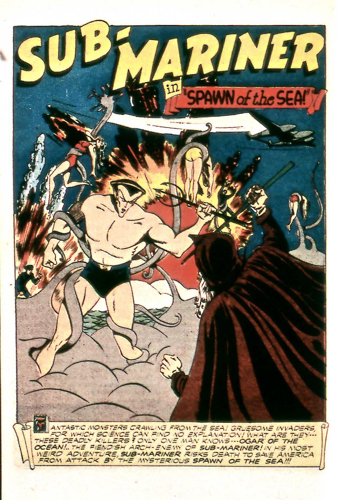 Sub-Mariner Comics Issue #14 #14 - English 30