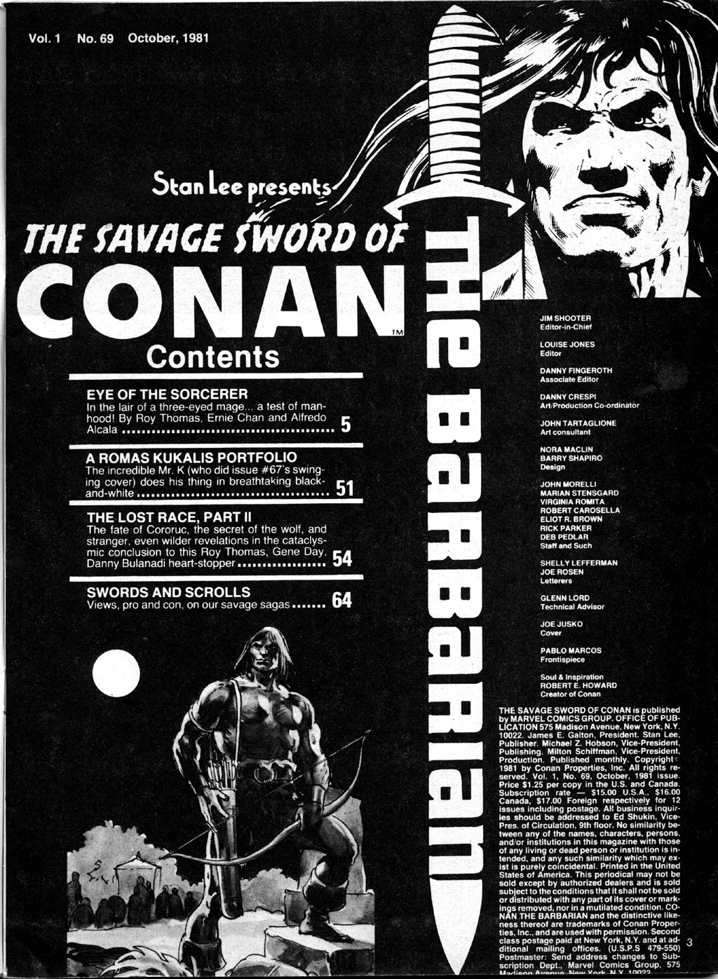 The Savage Sword Of Conan Issue #69 #70 - English 3