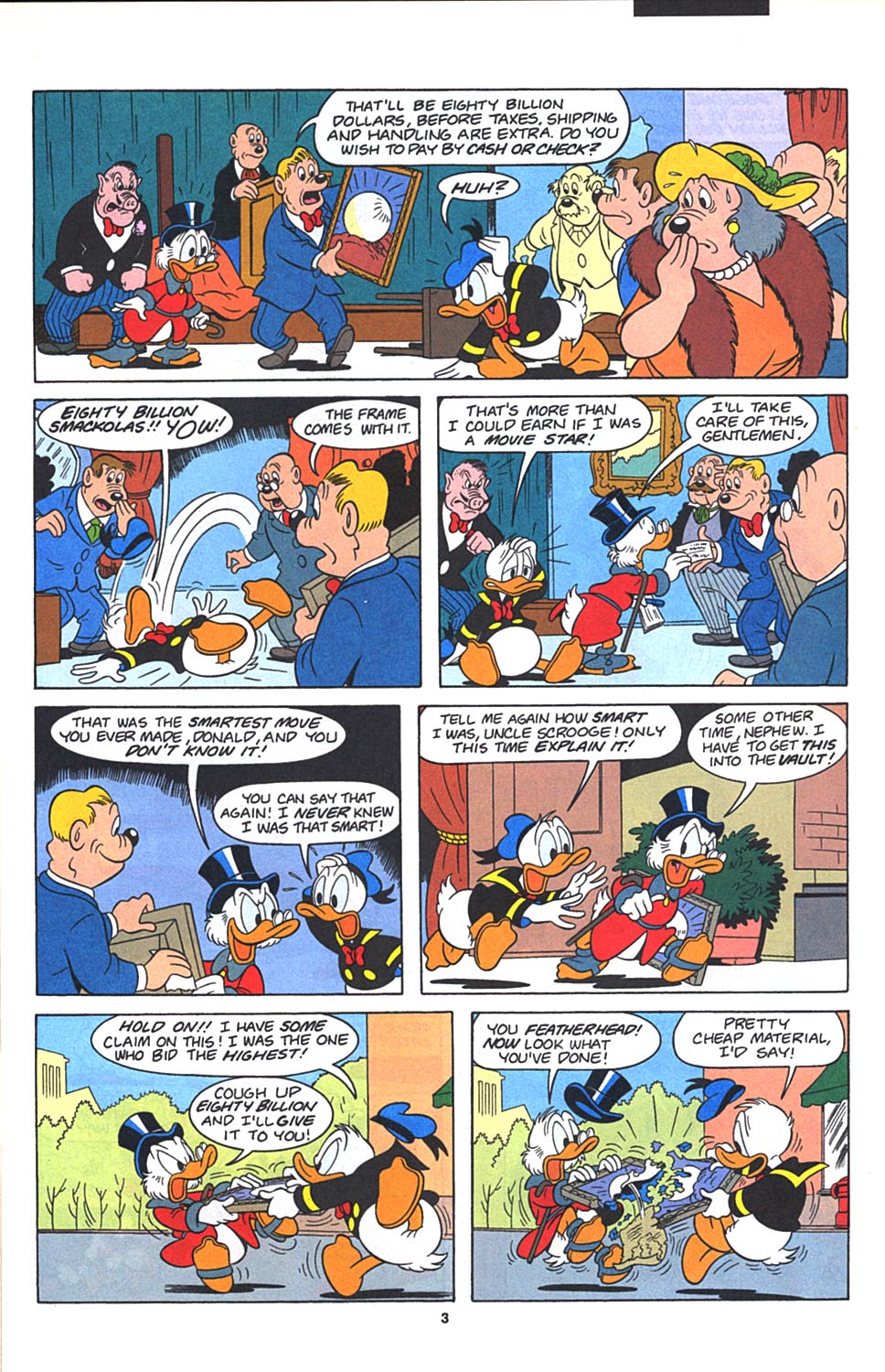 Uncle Scrooge (1953) Issue #271 #271 - English 4