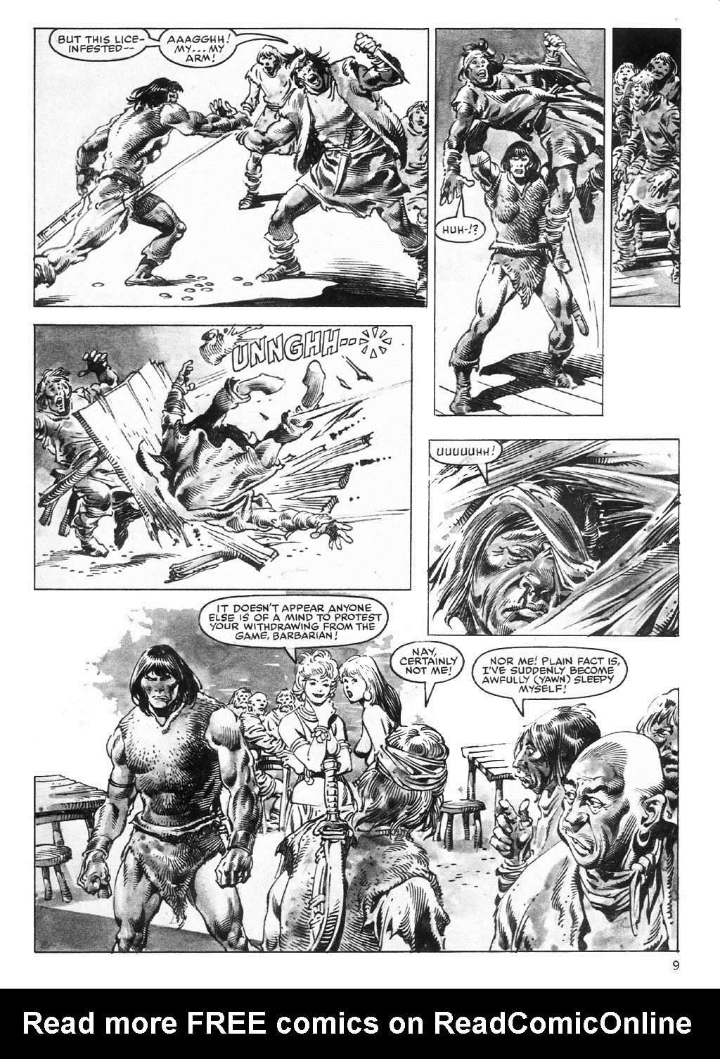 The Savage Sword Of Conan Issue #98 #99 - English 9