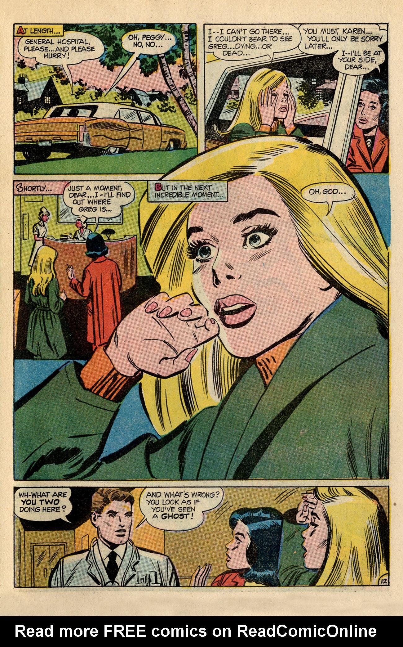 Read online Secret Hearts comic -  Issue #138 - 31