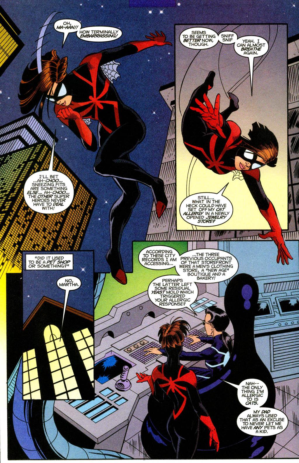 SPIDER-WOMAN #14 1999