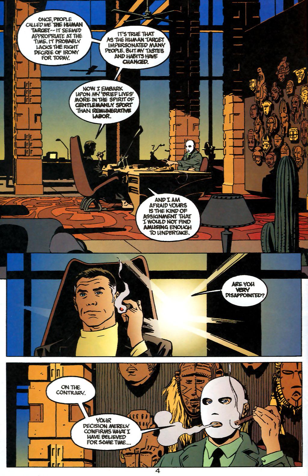 Human Target (1999) 1 Page 4