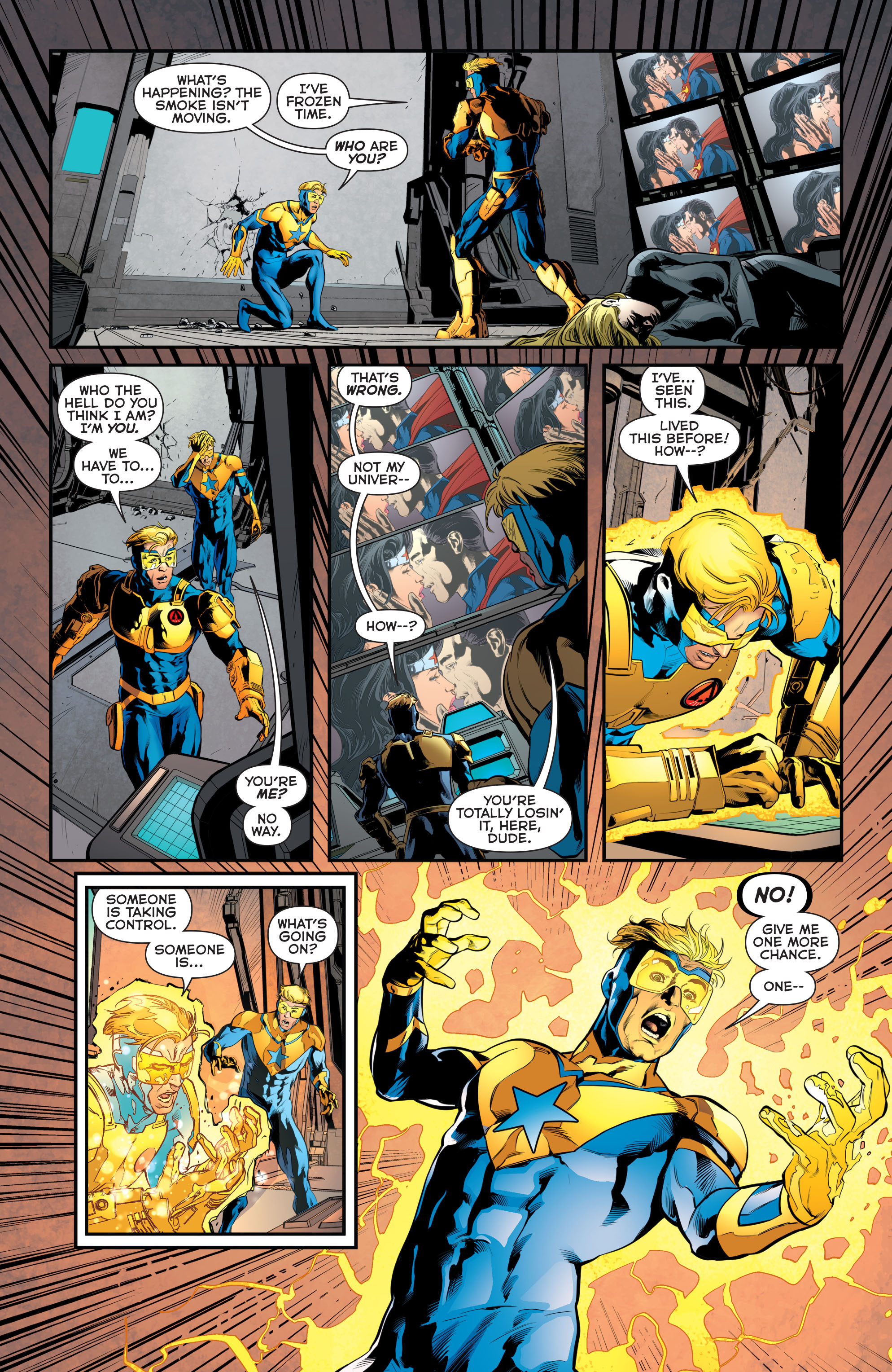 Read online Booster Gold: Futures End comic -  Issue # Full - 8