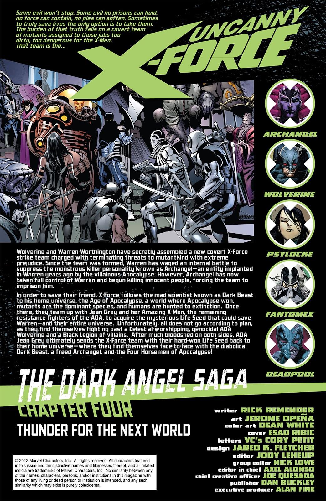 Uncanny X-Force (2010) Issue #14 #15 - English 2