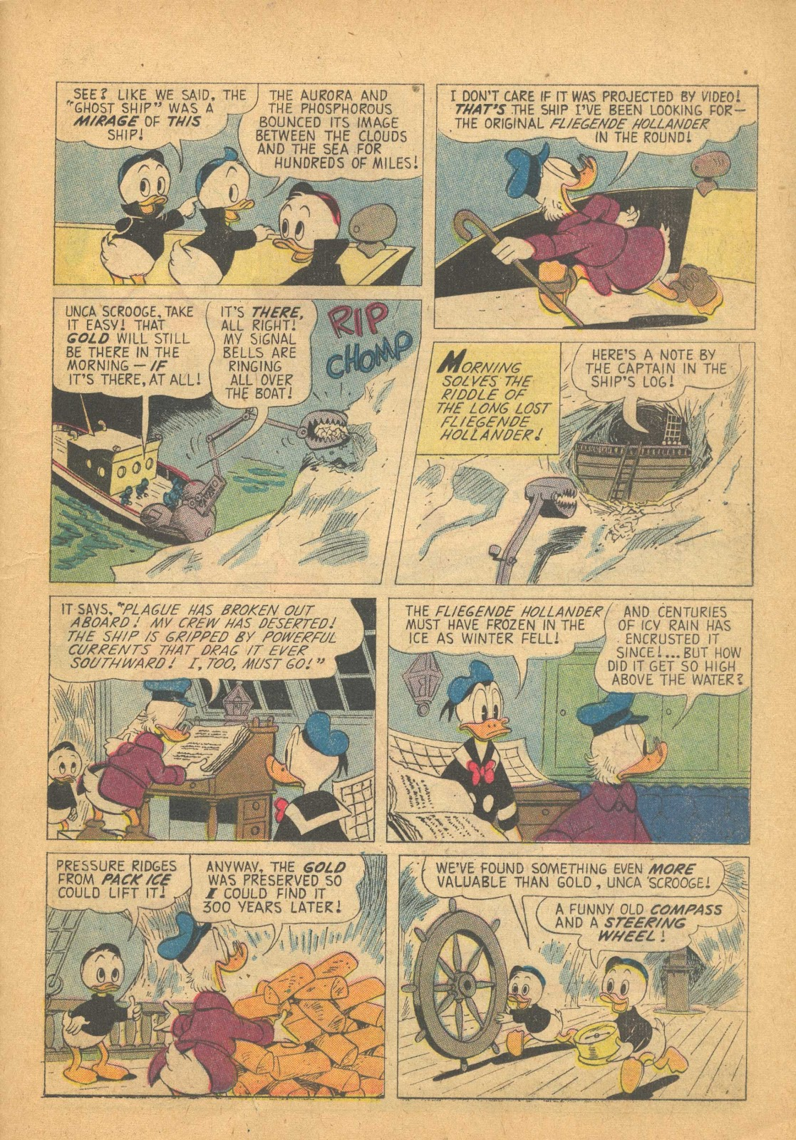 Uncle Scrooge (1953) Issue #25 #25 - English 21