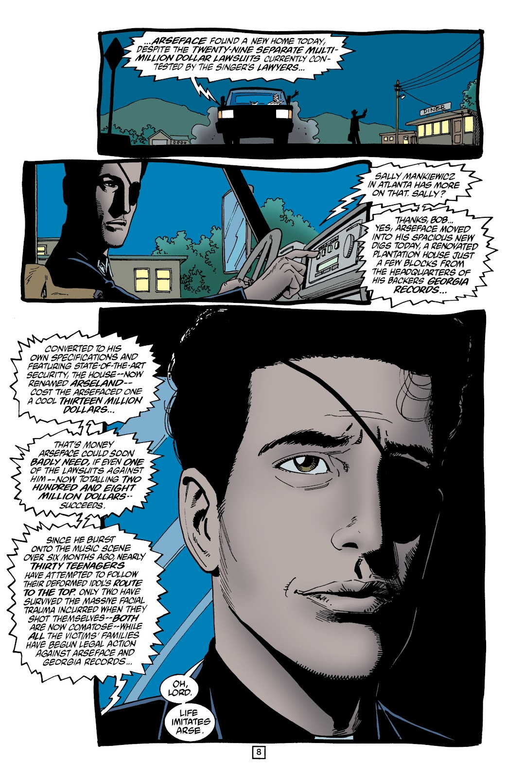 Preacher Issue #53 #62 - English 9