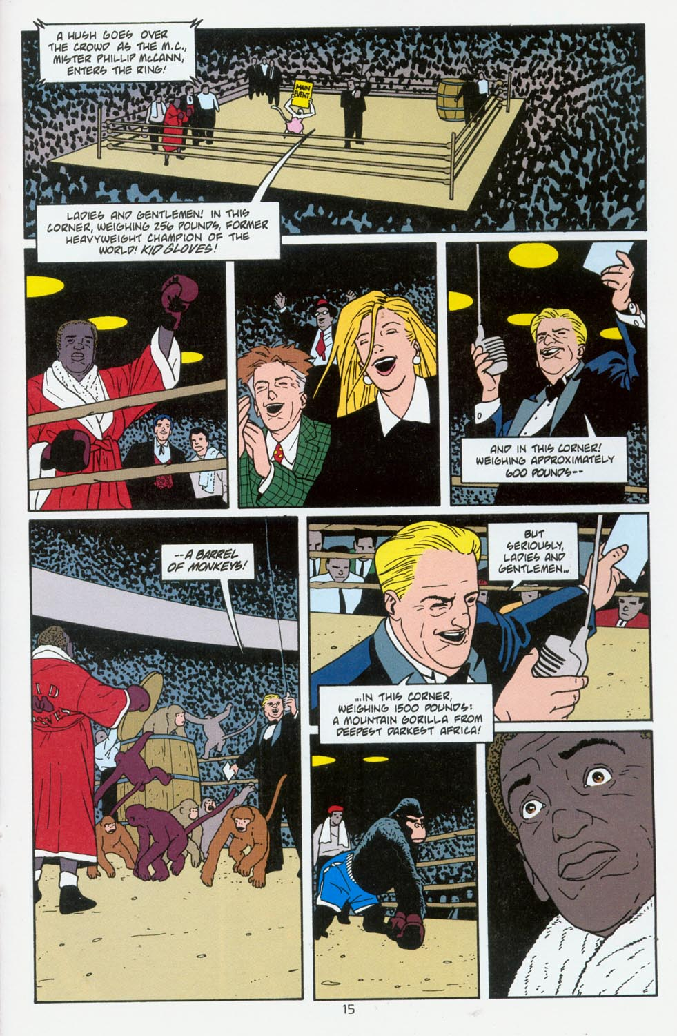 Read online Terminal City comic -  Issue #6 - 16