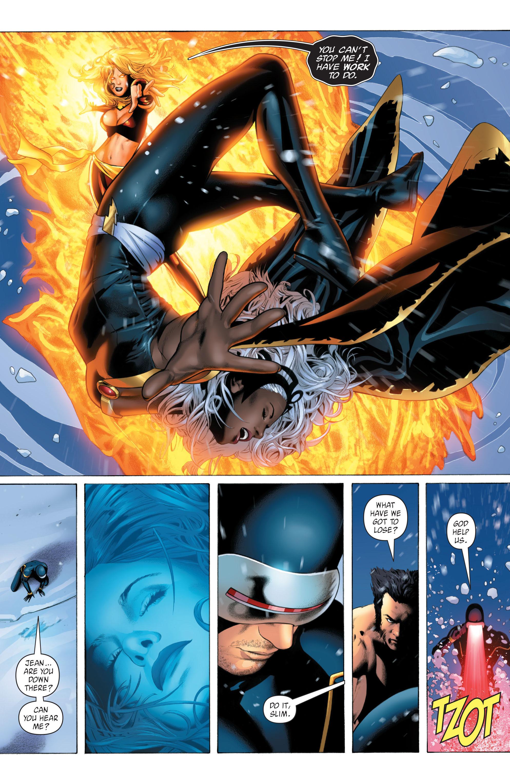 Read online X-Men: Phoenix - Endsong comic -  Issue #5 - 12