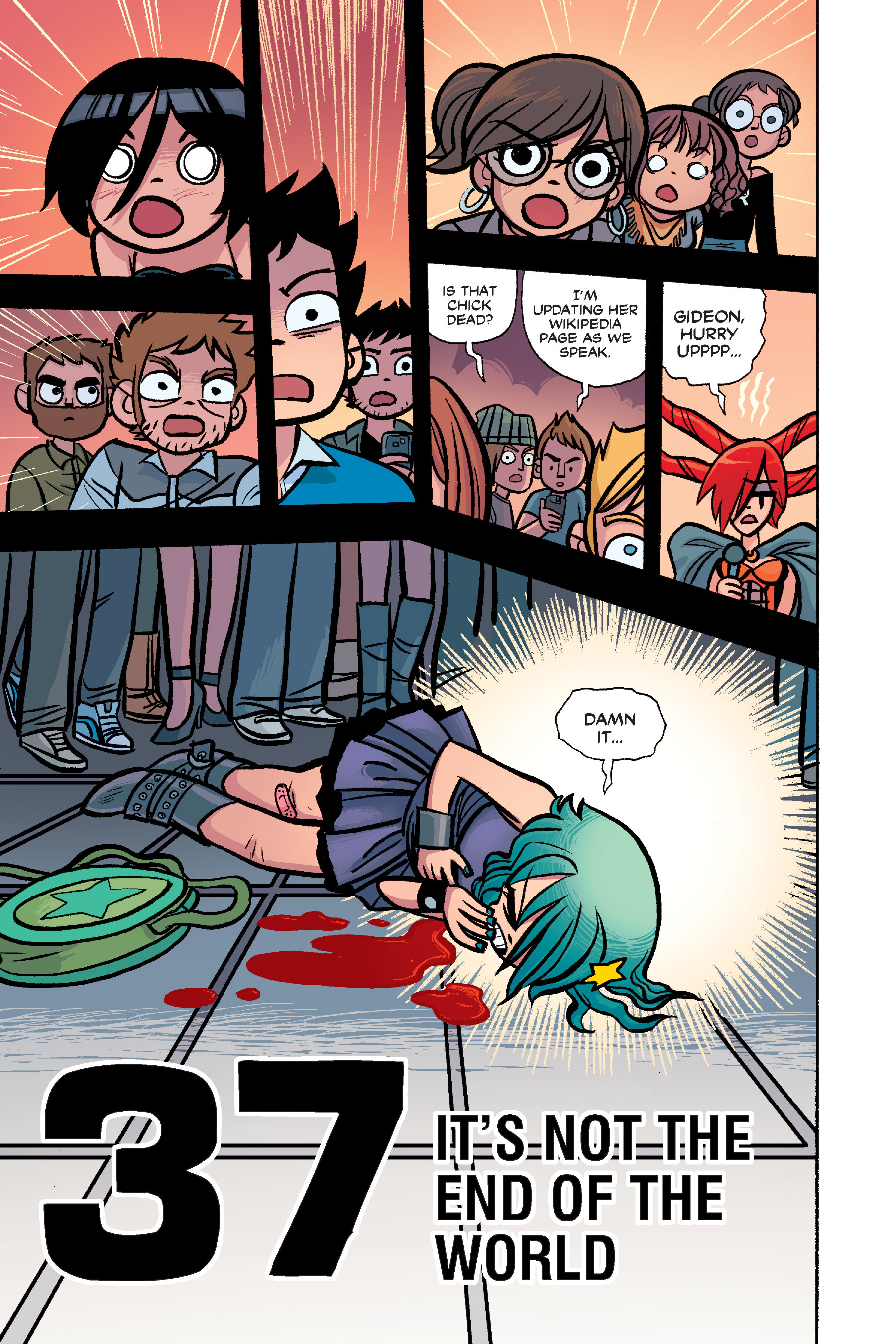Read online Scott Pilgrim comic -  Issue #6 - 158