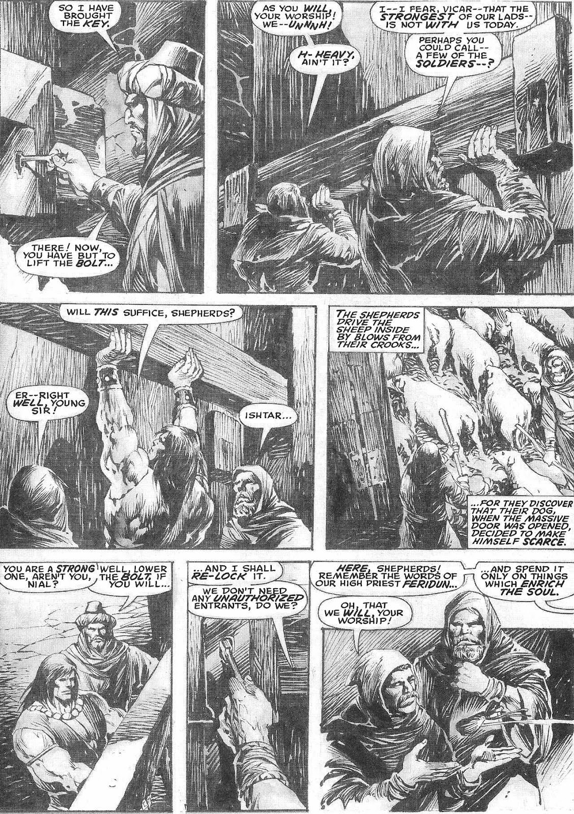 The Savage Sword Of Conan Issue #209 #210 - English 9