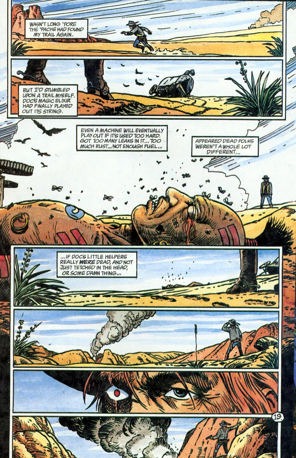 Jonah Hex: Two-Gun Mojo Issue #5 #5 - English 21