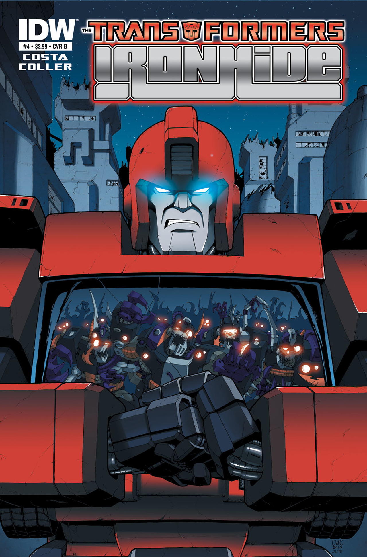 Read online The Transformers: Ironhide comic -  Issue #4 - 2