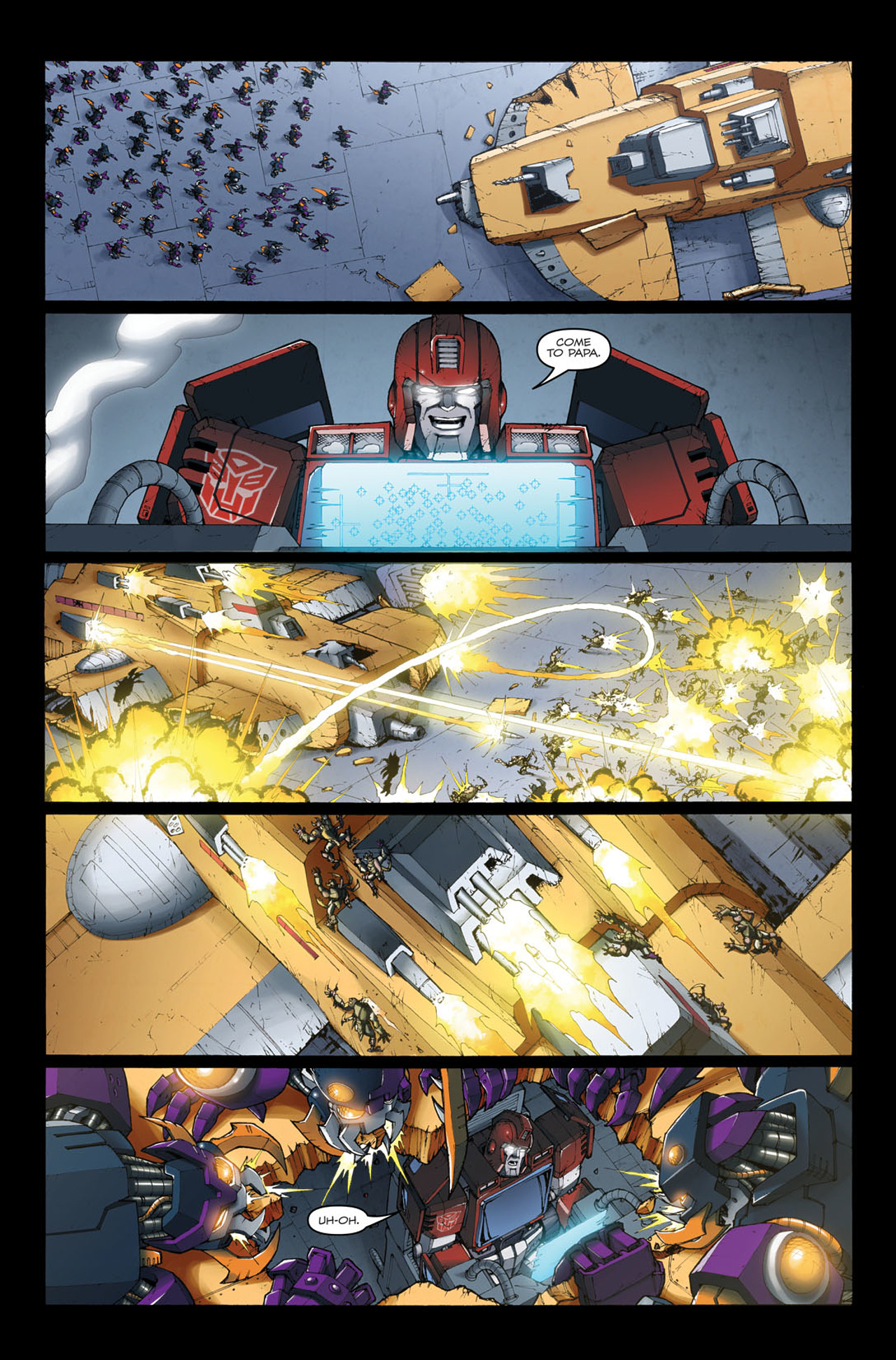 Read online The Transformers: Ironhide comic -  Issue #4 - 10