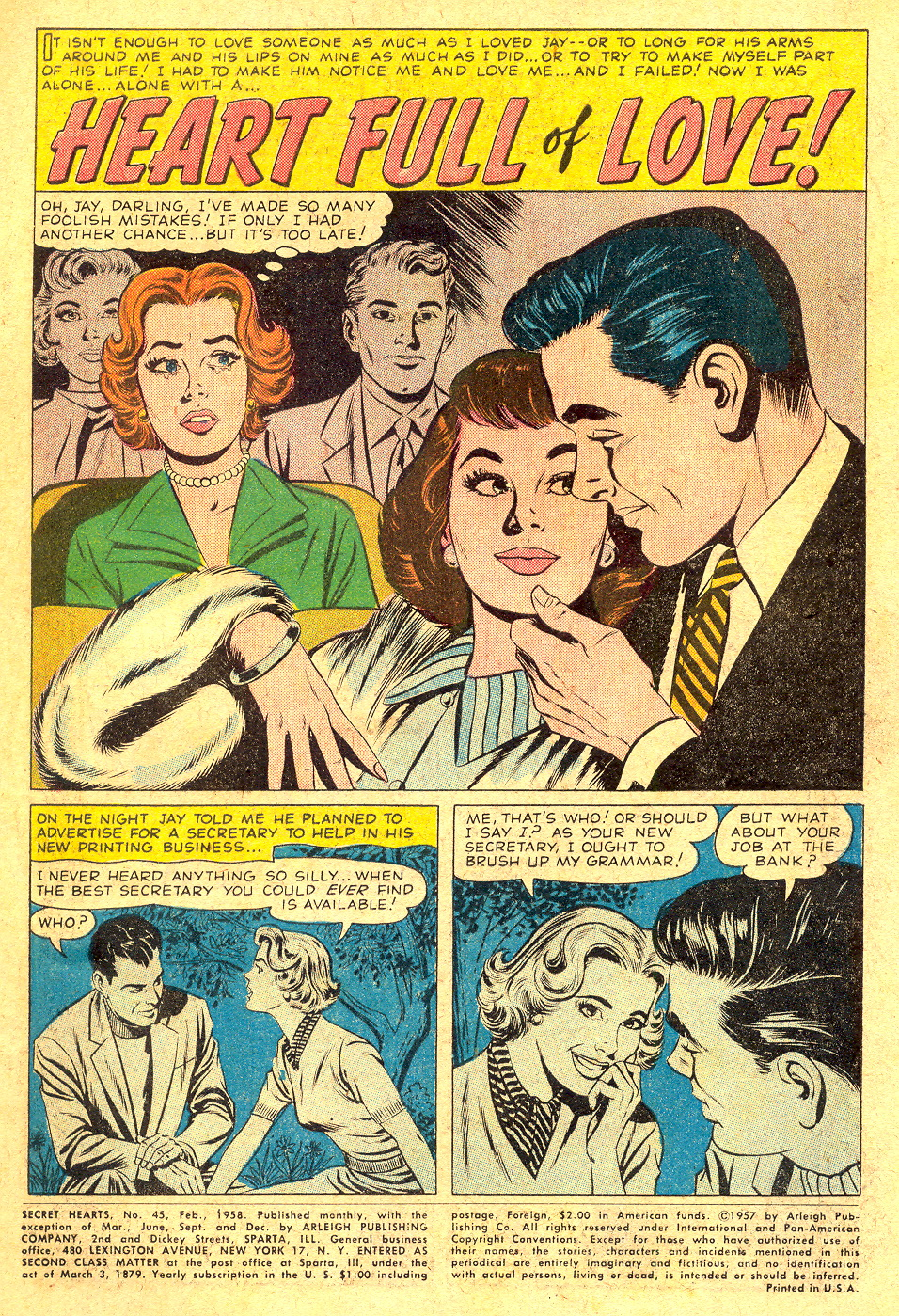 Read online Secret Hearts comic -  Issue #45 - 3