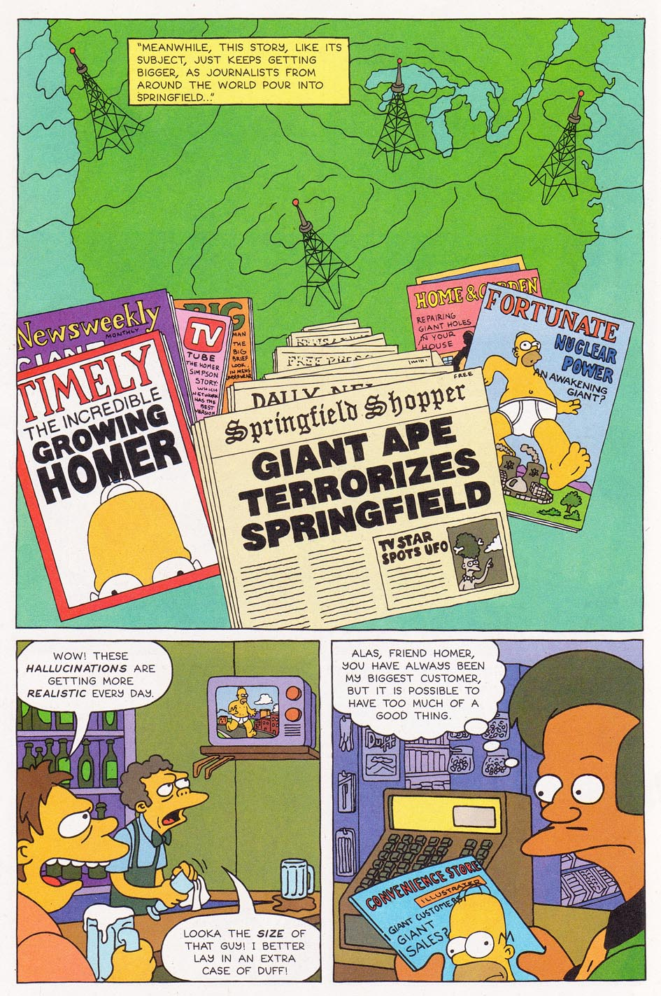 Read online Simpsons Comics comic -  Issue #1 - 14