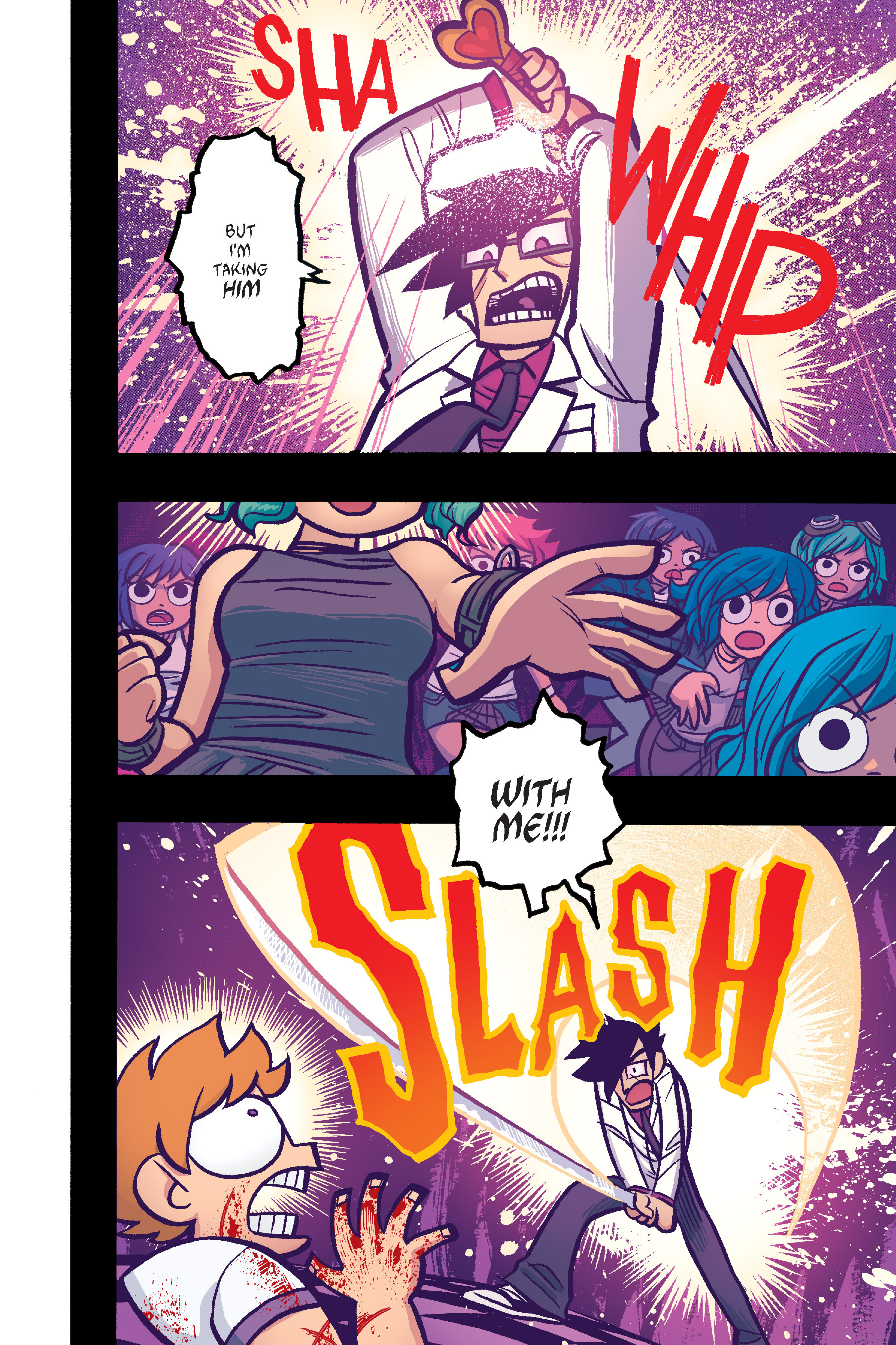 Read online Scott Pilgrim comic -  Issue #6 - 183