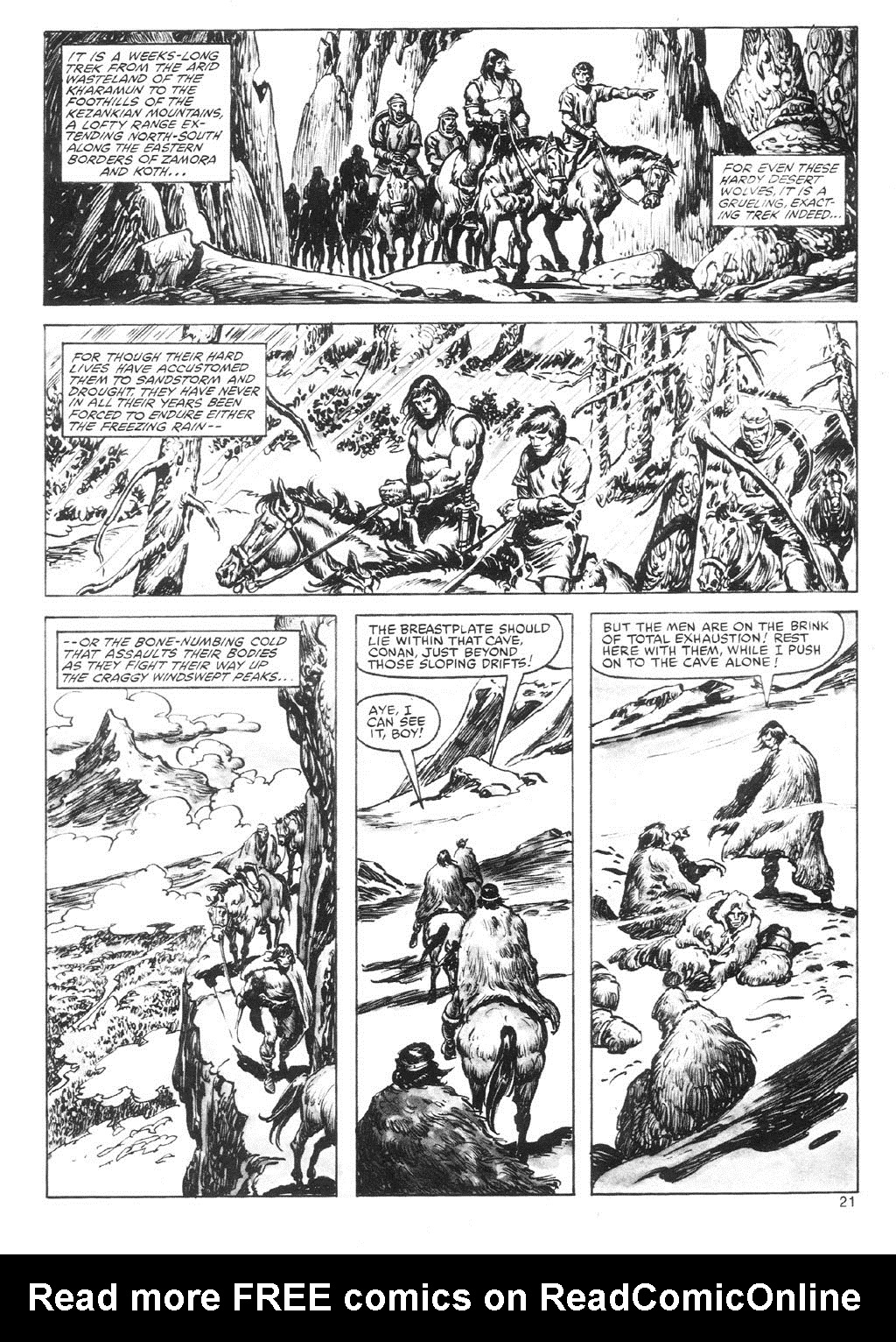 The Savage Sword Of Conan Issue #87 #88 - English 21