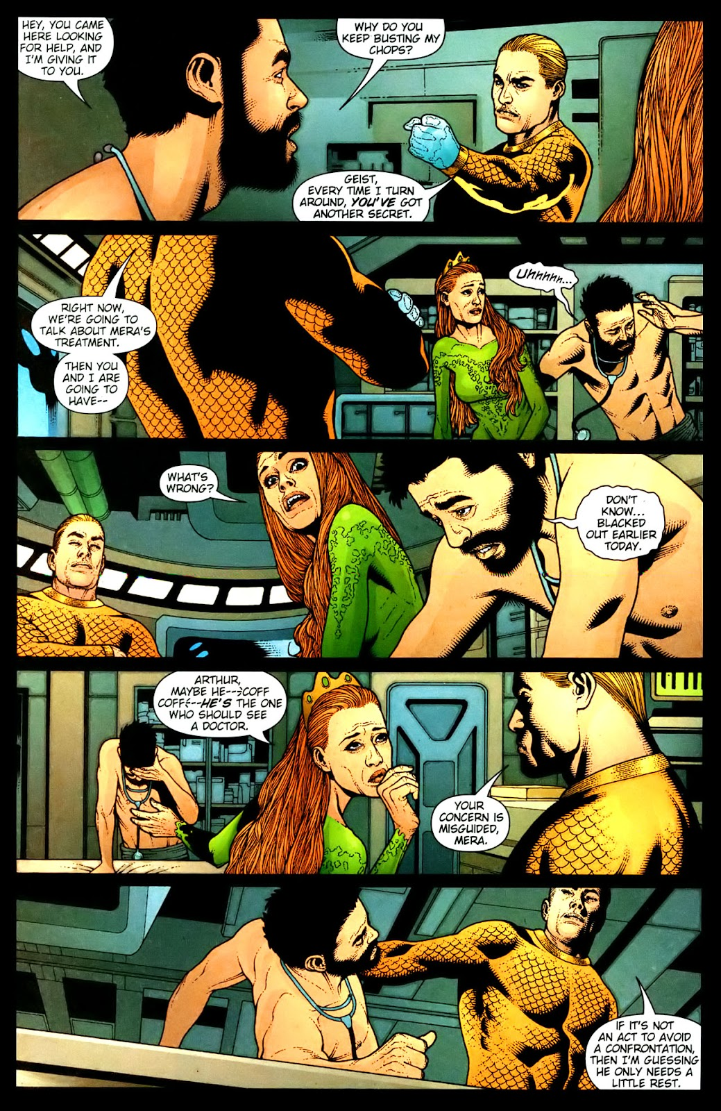 Aquaman (2003) Issue #35 #35 - English 3