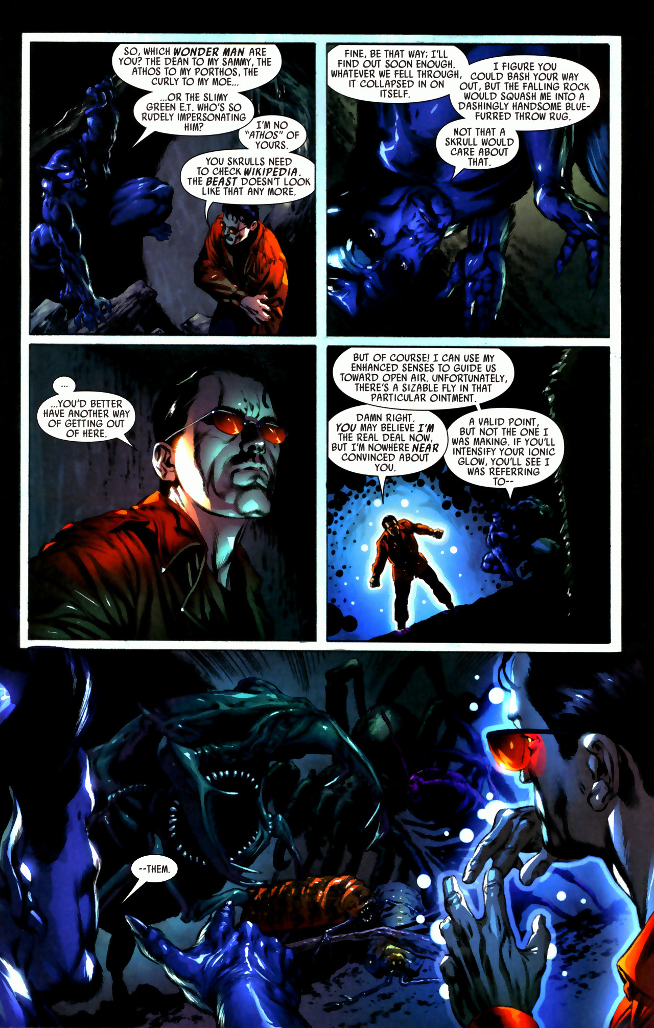 Read online Secret Invasion: Who Do You Trust? comic -  Issue # Full - 23