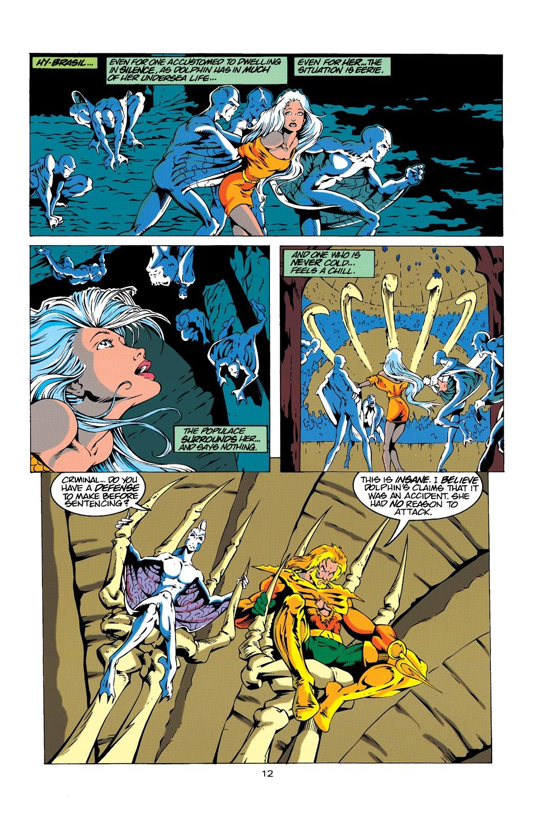 Aquaman (1994) Issue #18 #24 - English 12