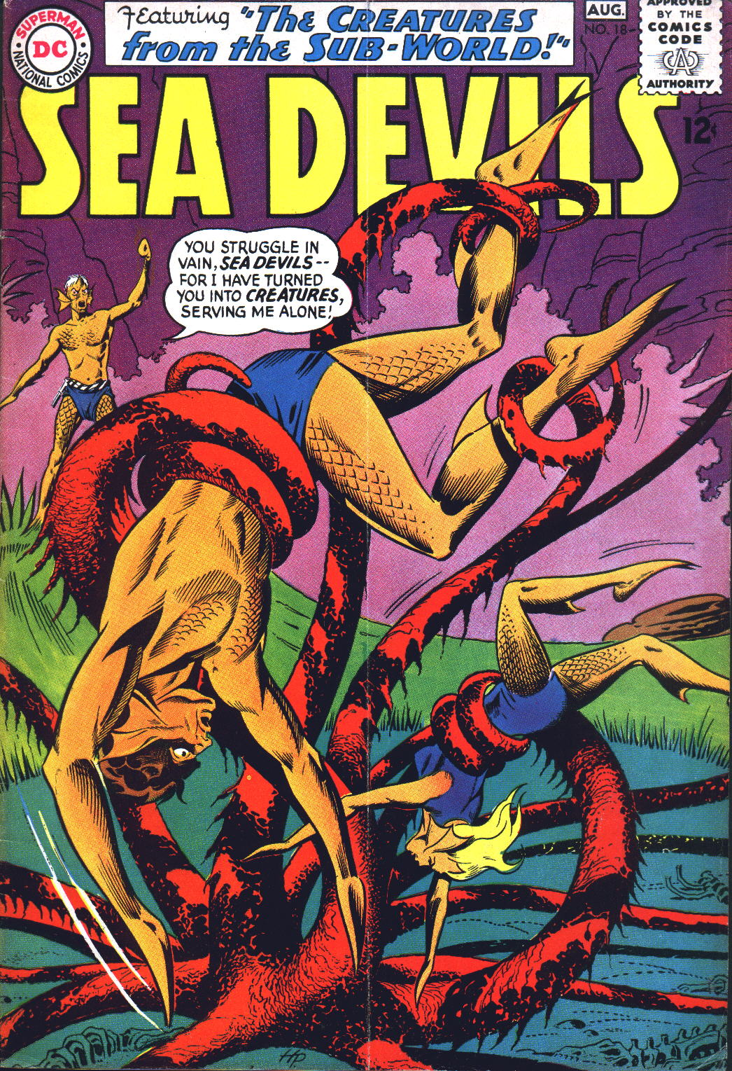 Read online Sea Devils comic -  Issue #18 - 1