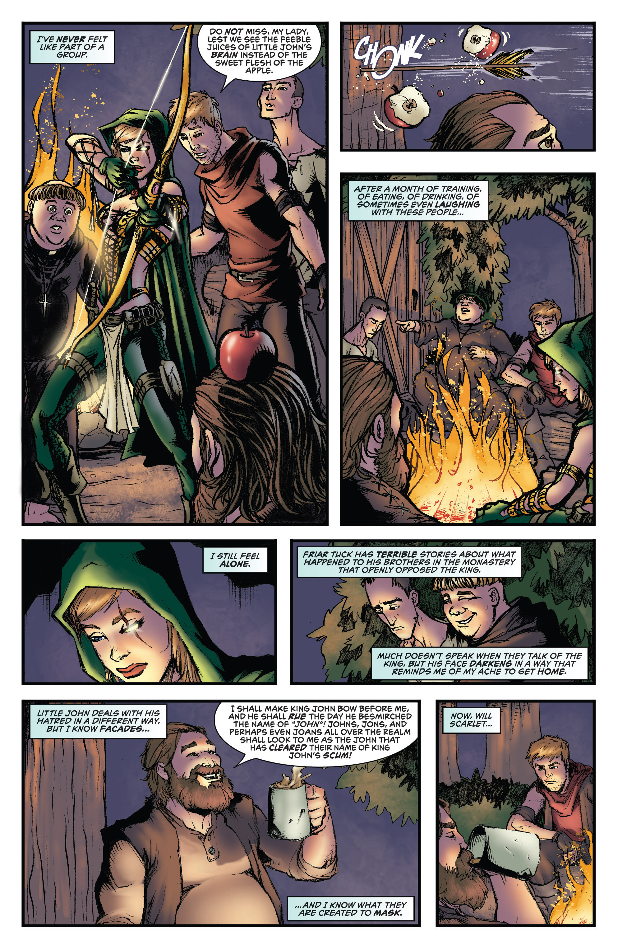 Read online Grimm Fairy Tales presents Robyn Hood (2012) comic -  Issue #3 - 13