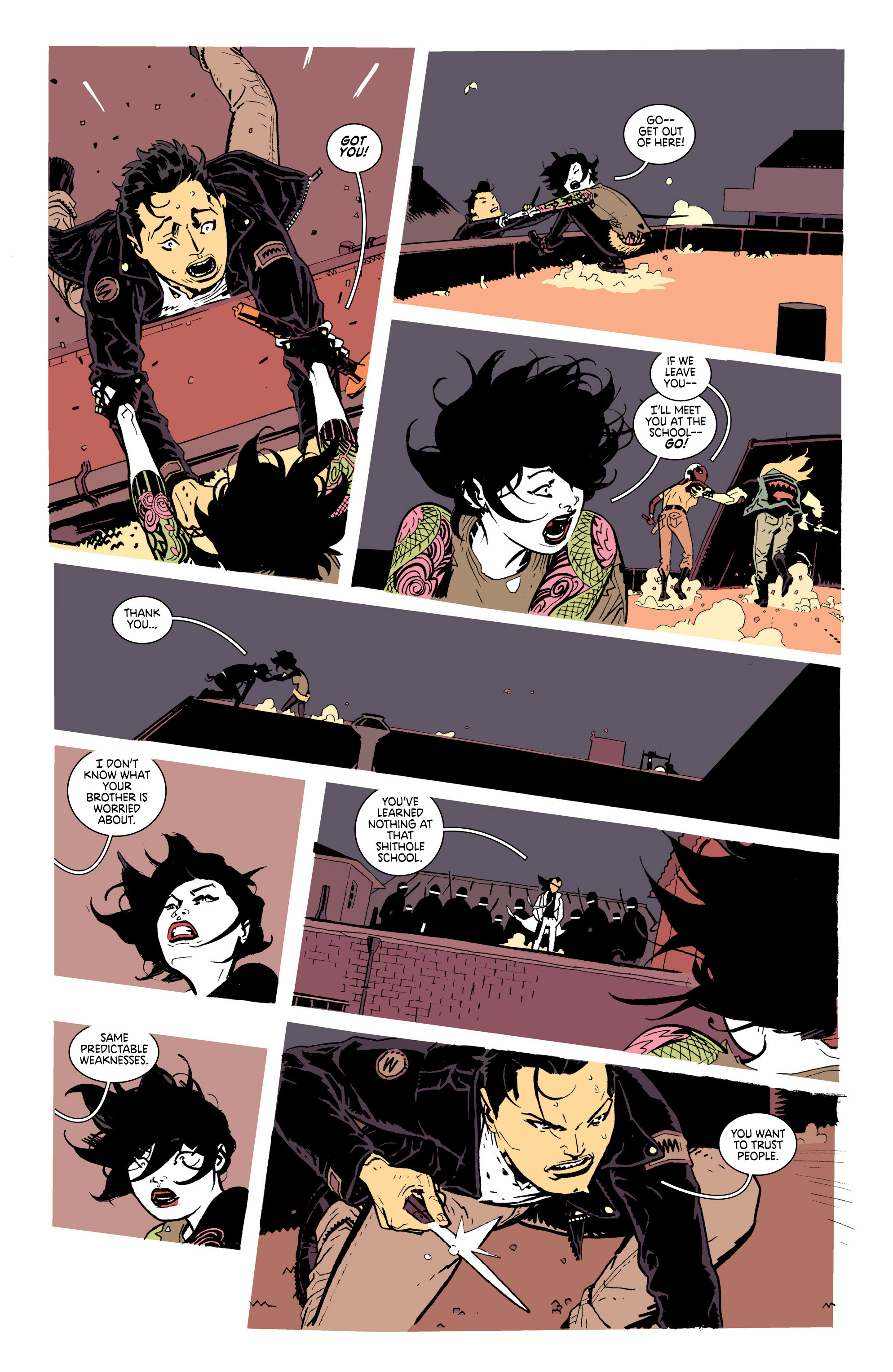 Read online Deadly Class comic -  Issue #25 - 19