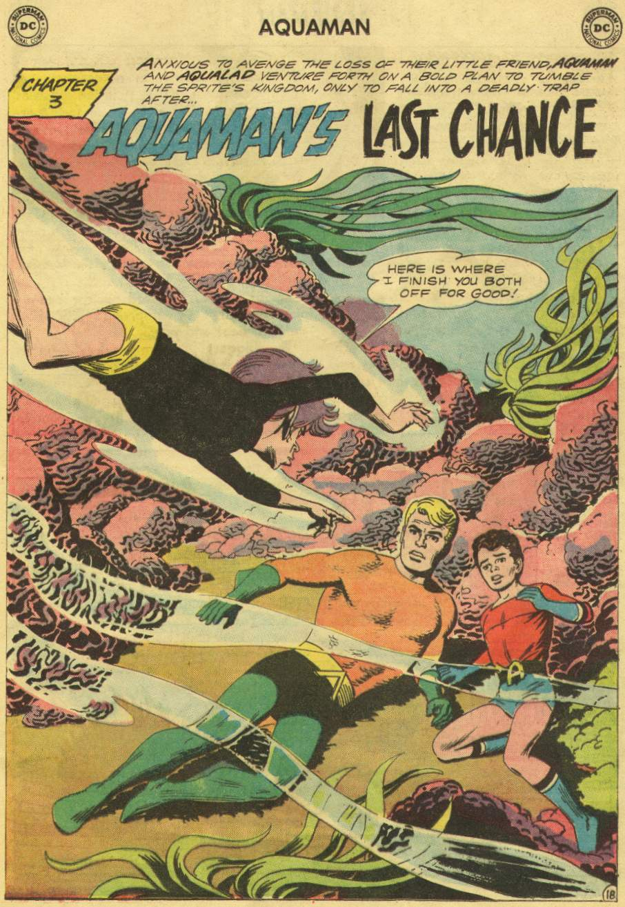 Aquaman (1962) Issue #10 #10 - English 25