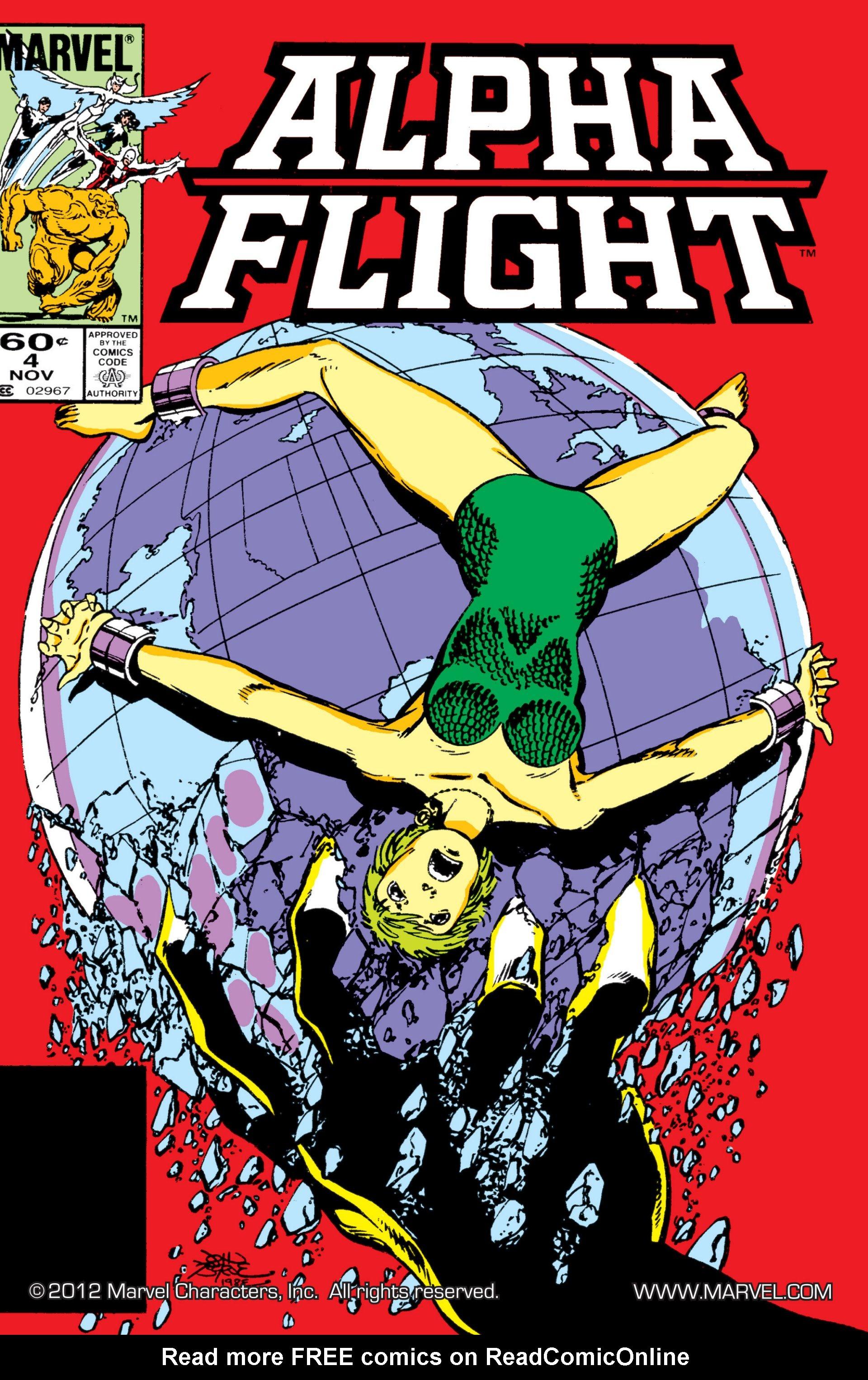 Alpha Flight (1983) 4 Page 1