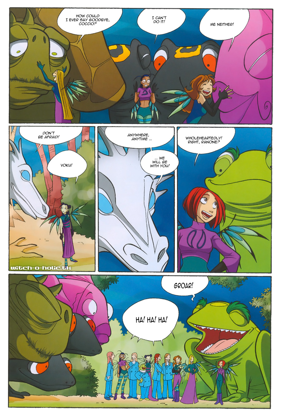 Read online W.i.t.c.h. comic -  Issue #135 - 33