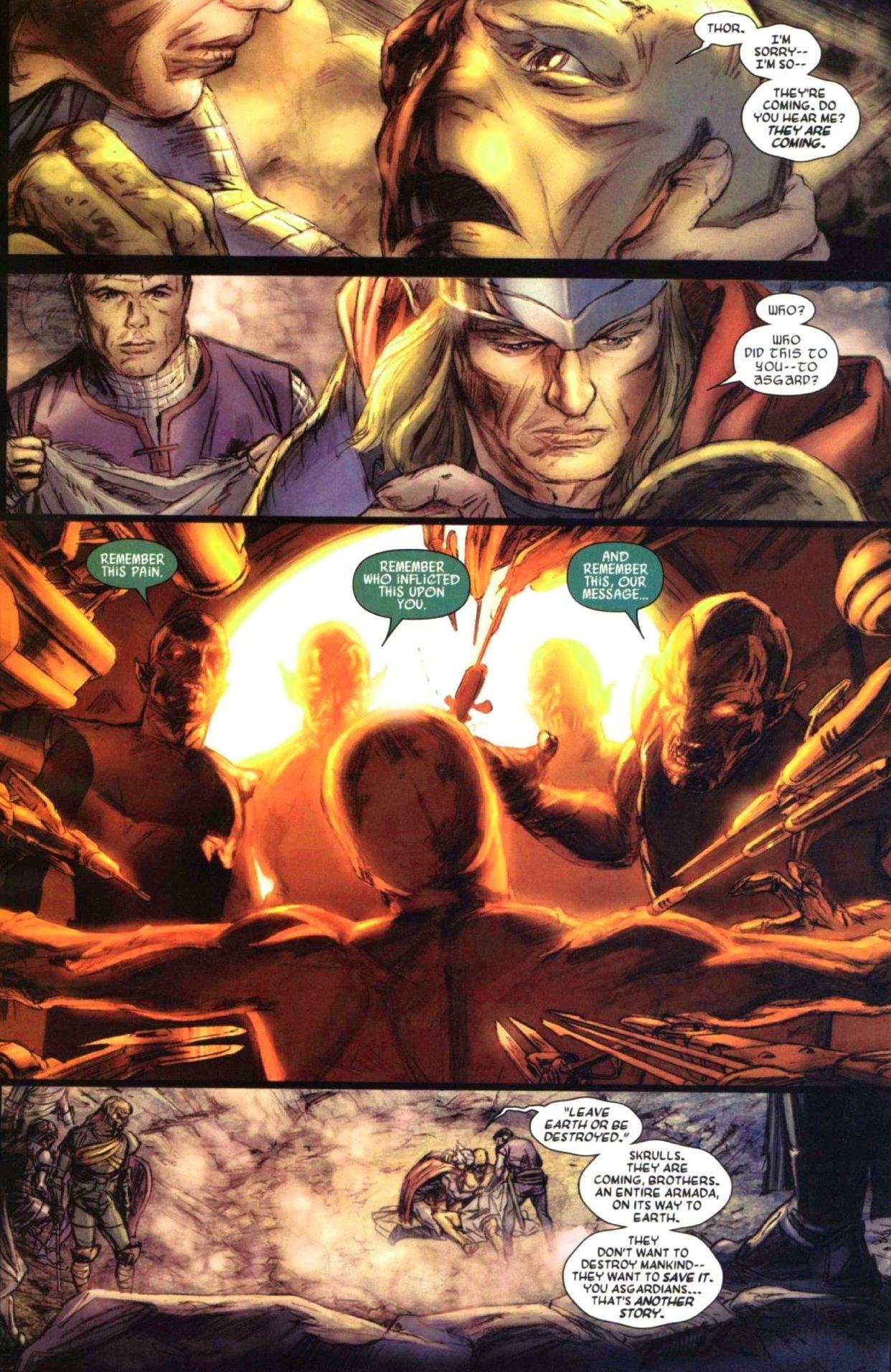 Read online Secret Invasion: Thor comic -  Issue #1 - 9