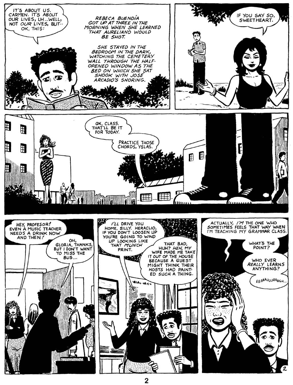 Love and Rockets (1982) Issue #16 #15 - English 4
