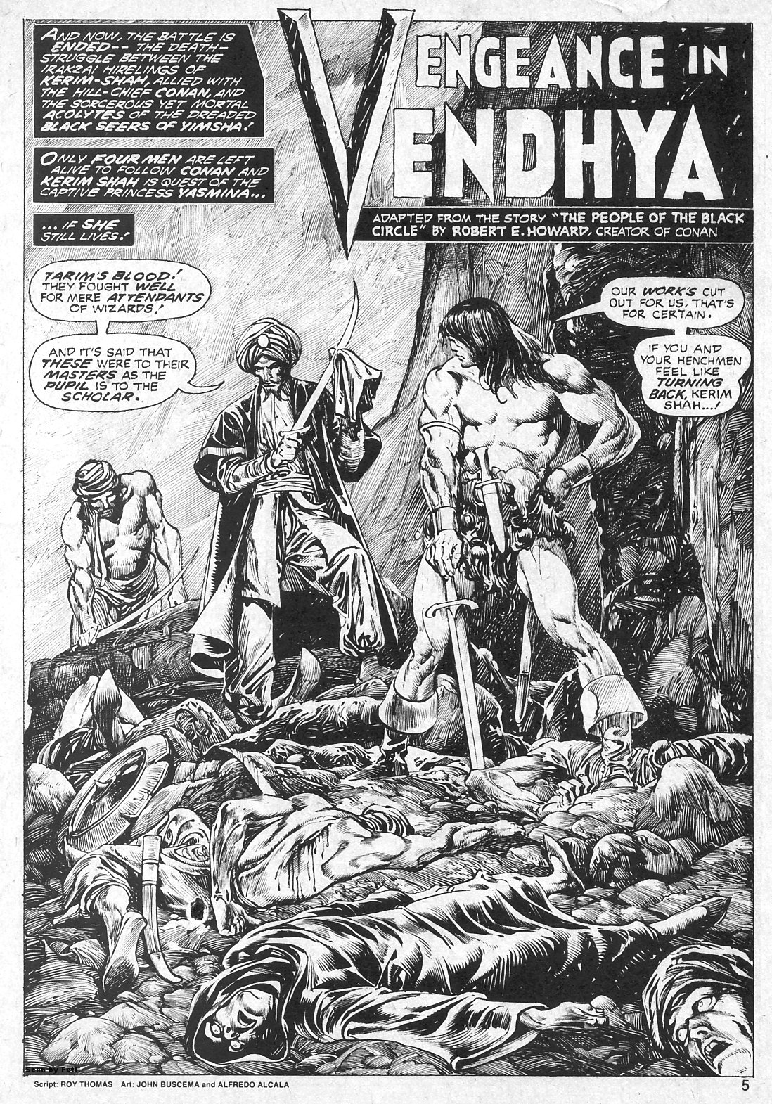 The Savage Sword Of Conan Issue #19 #20 - English 5