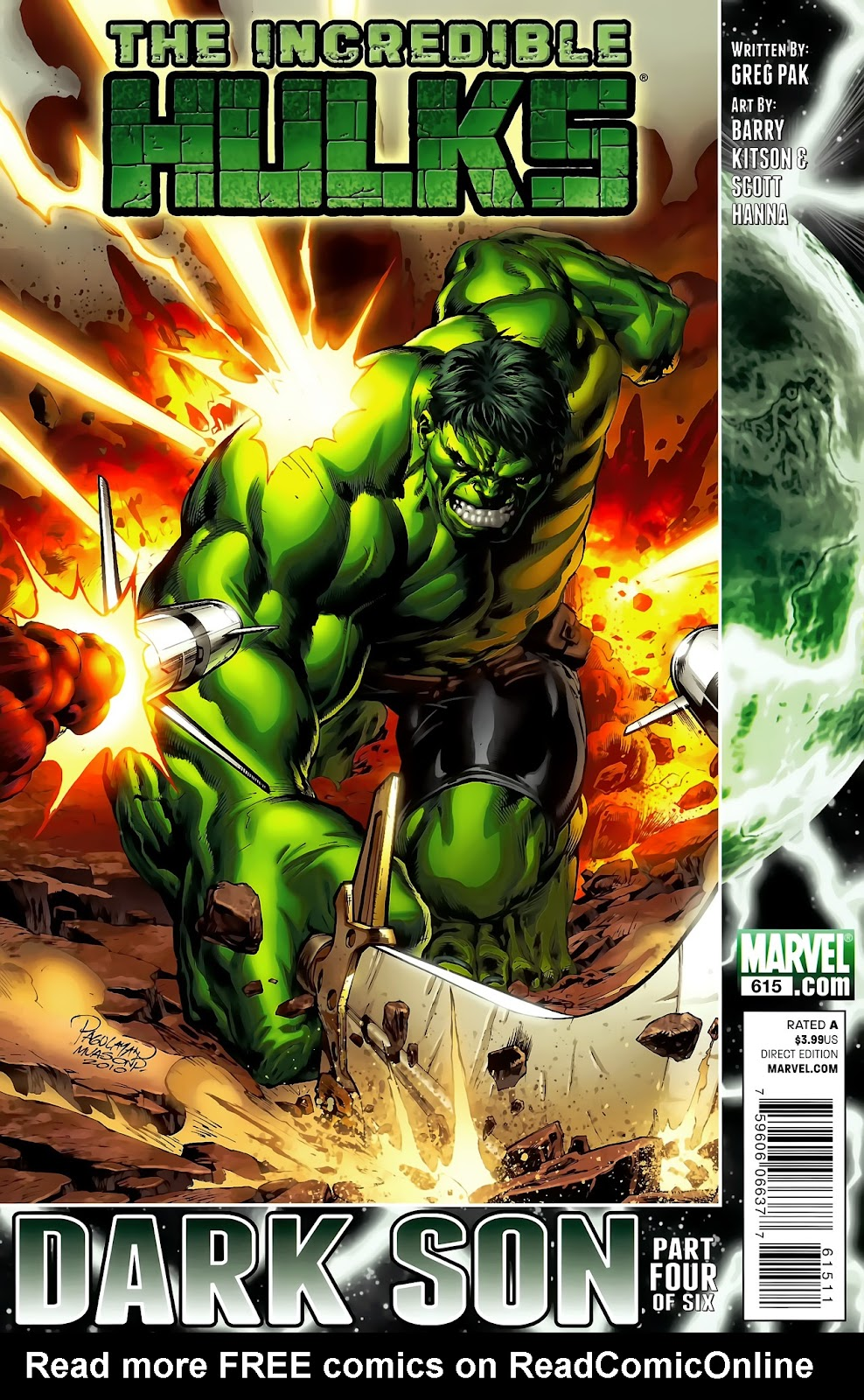 Incredible Hulks (2010) Issue #615 #5 - English 1