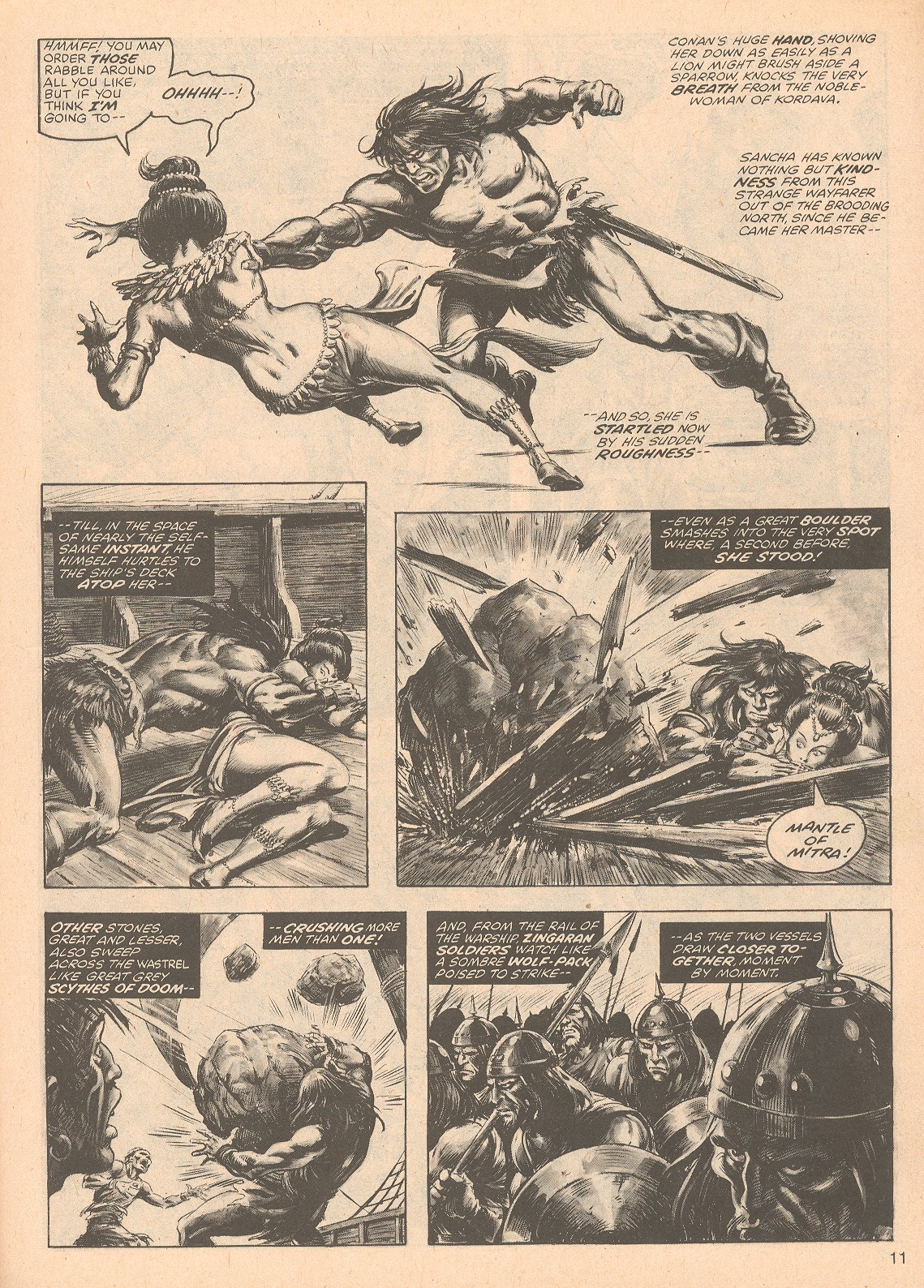 The Savage Sword Of Conan Issue #67 #68 - English 11