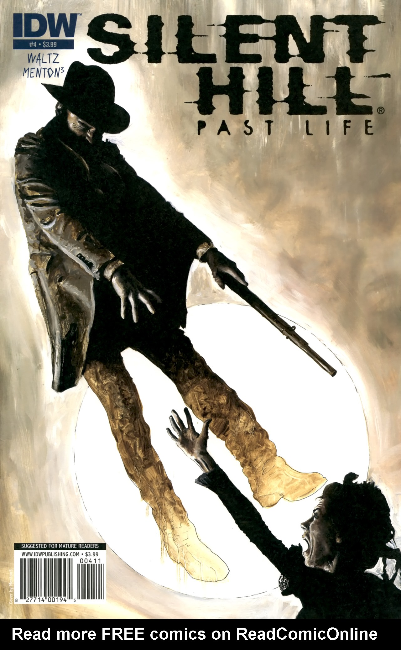 Read online Silent Hill: Past Life comic -  Issue #4 - 1