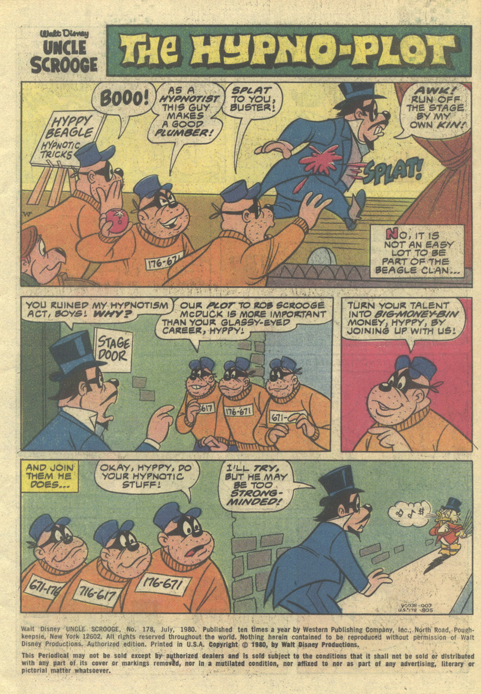 Uncle Scrooge (1953) Issue #178 #178 - English 3