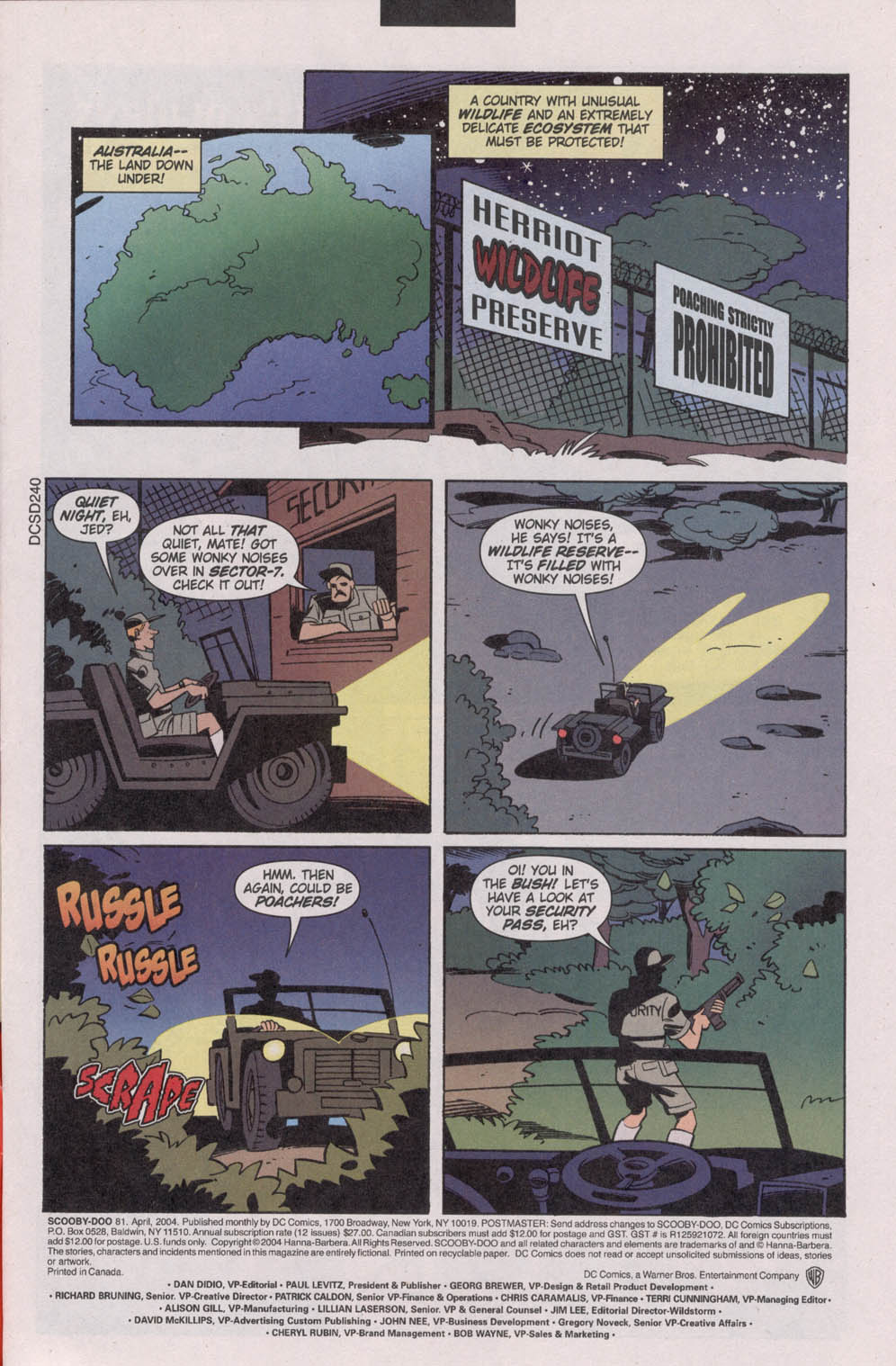 Read online Scooby-Doo (1997) comic -  Issue #81 - 3