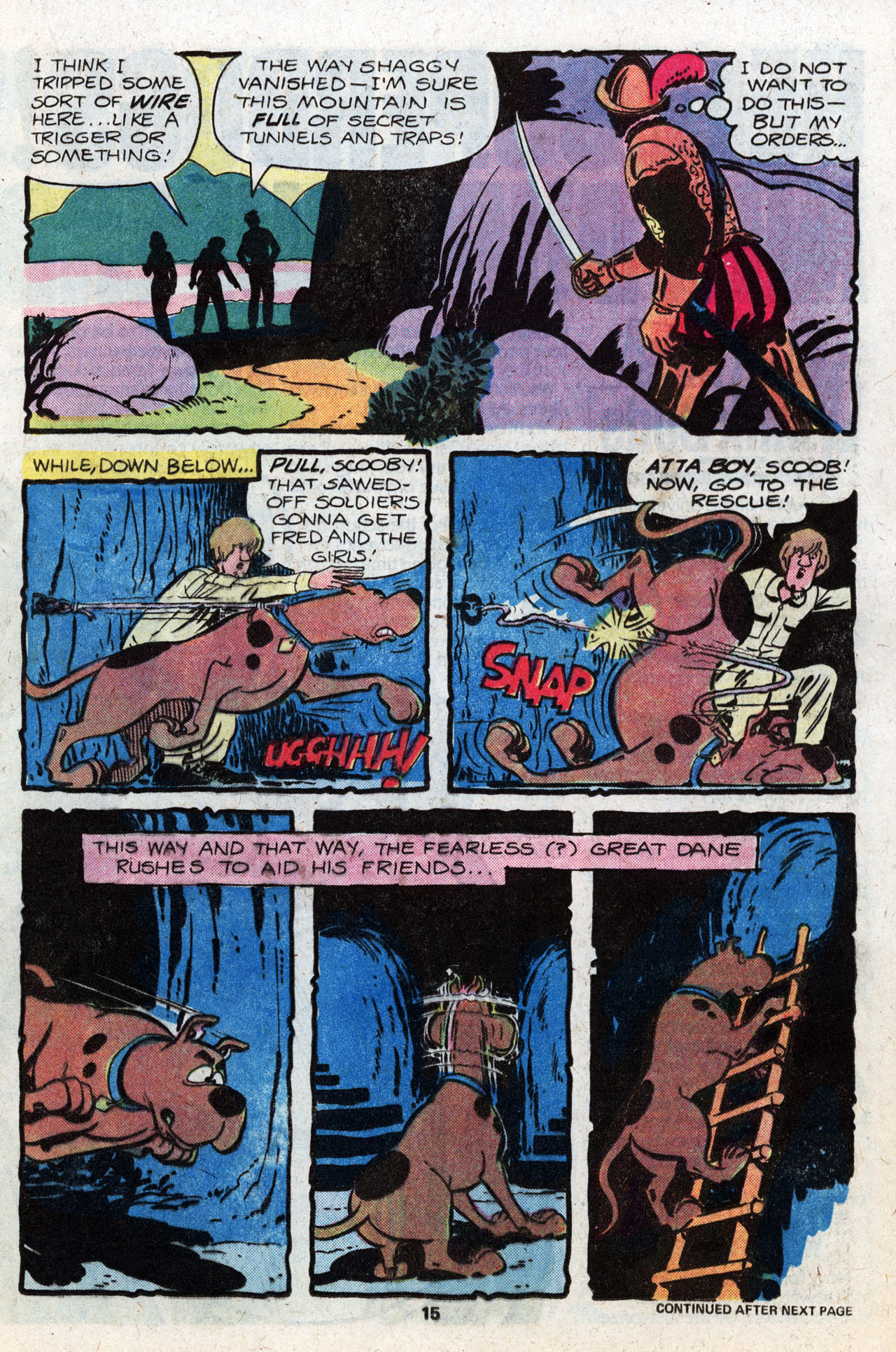 Read online Scooby-Doo (1977) comic -  Issue #8 - 17