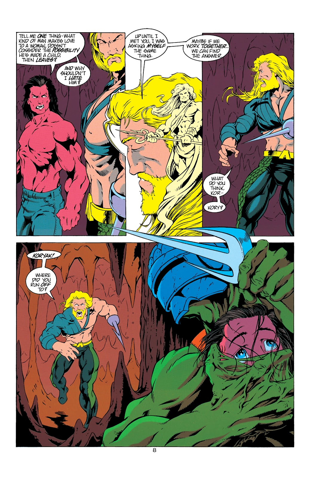 Aquaman (1994) Issue #6 #12 - English 9