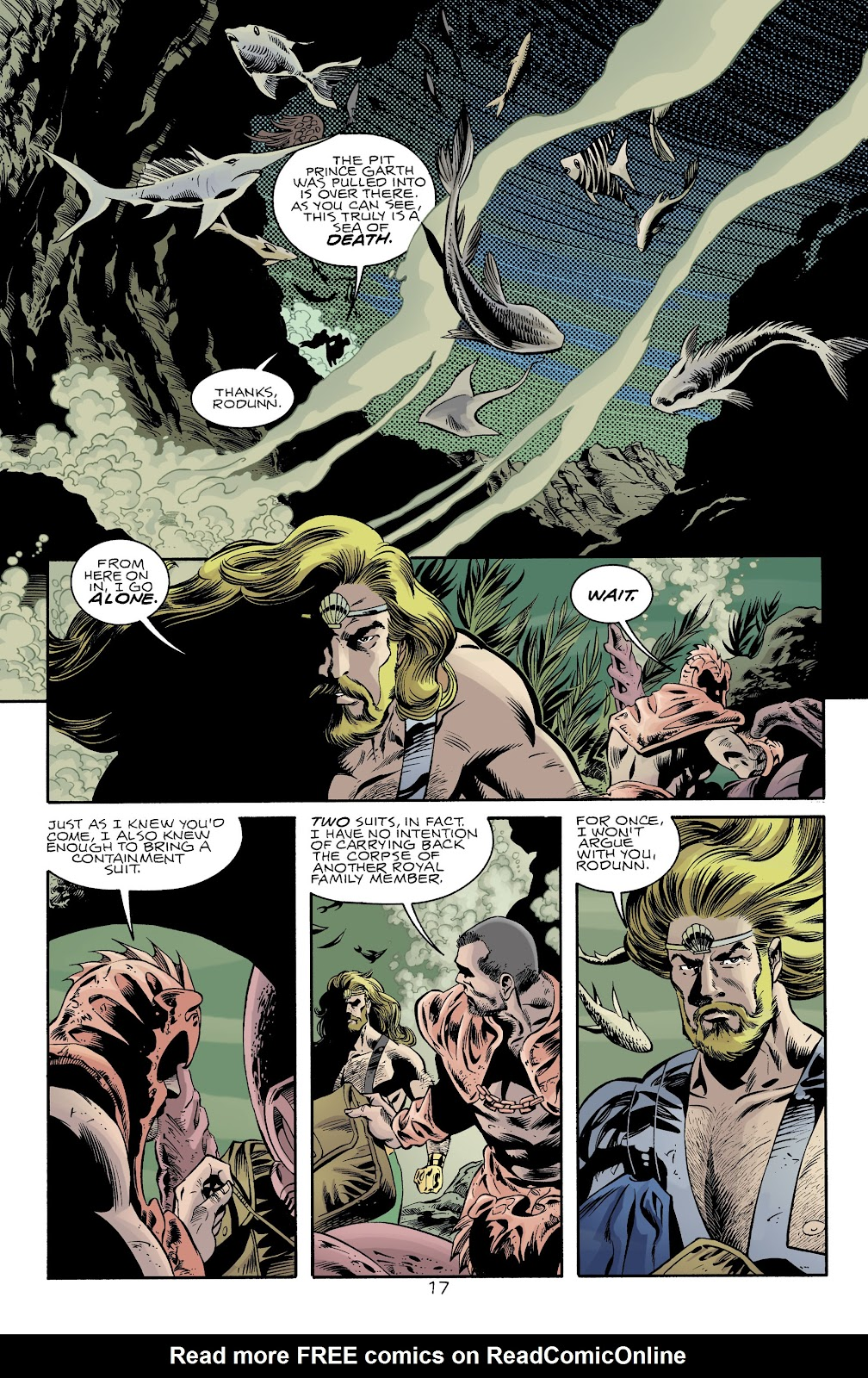 Aquaman (1994) Issue #74 #80 - English 17