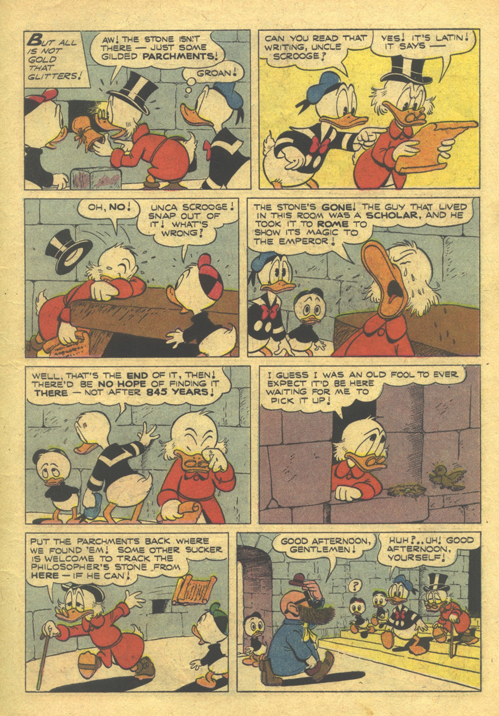 Uncle Scrooge (1953) #10 #395 - English 7