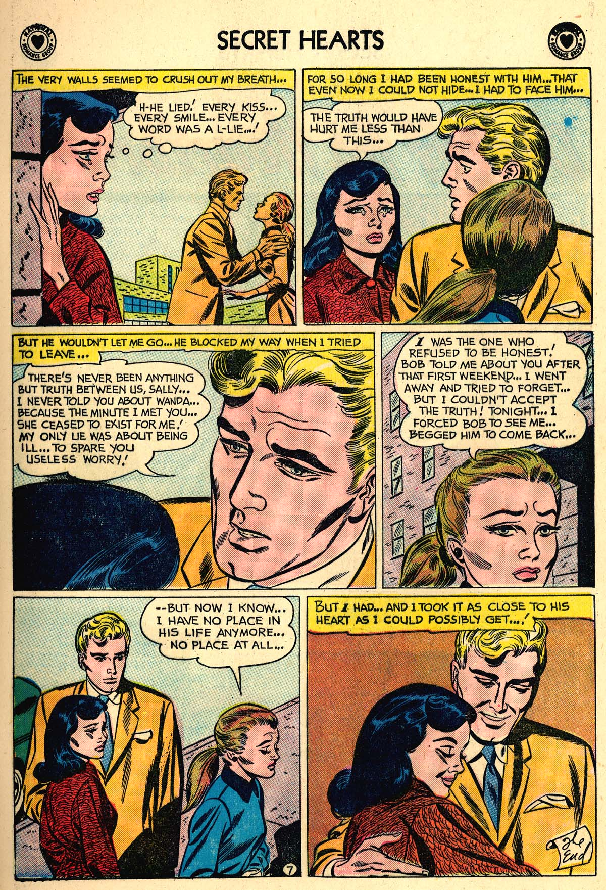 Read online Secret Hearts comic -  Issue #59 - 9