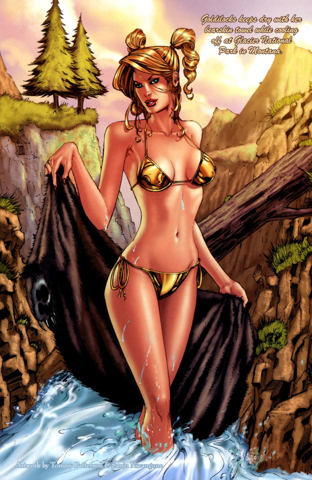 Grimm Fairy Tales: Swimsuit Edition Full #1 - English 14