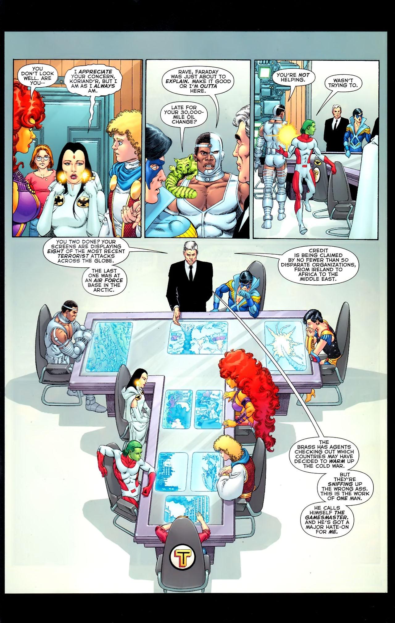 Teen Titans (2003) #100 #110 - English 43