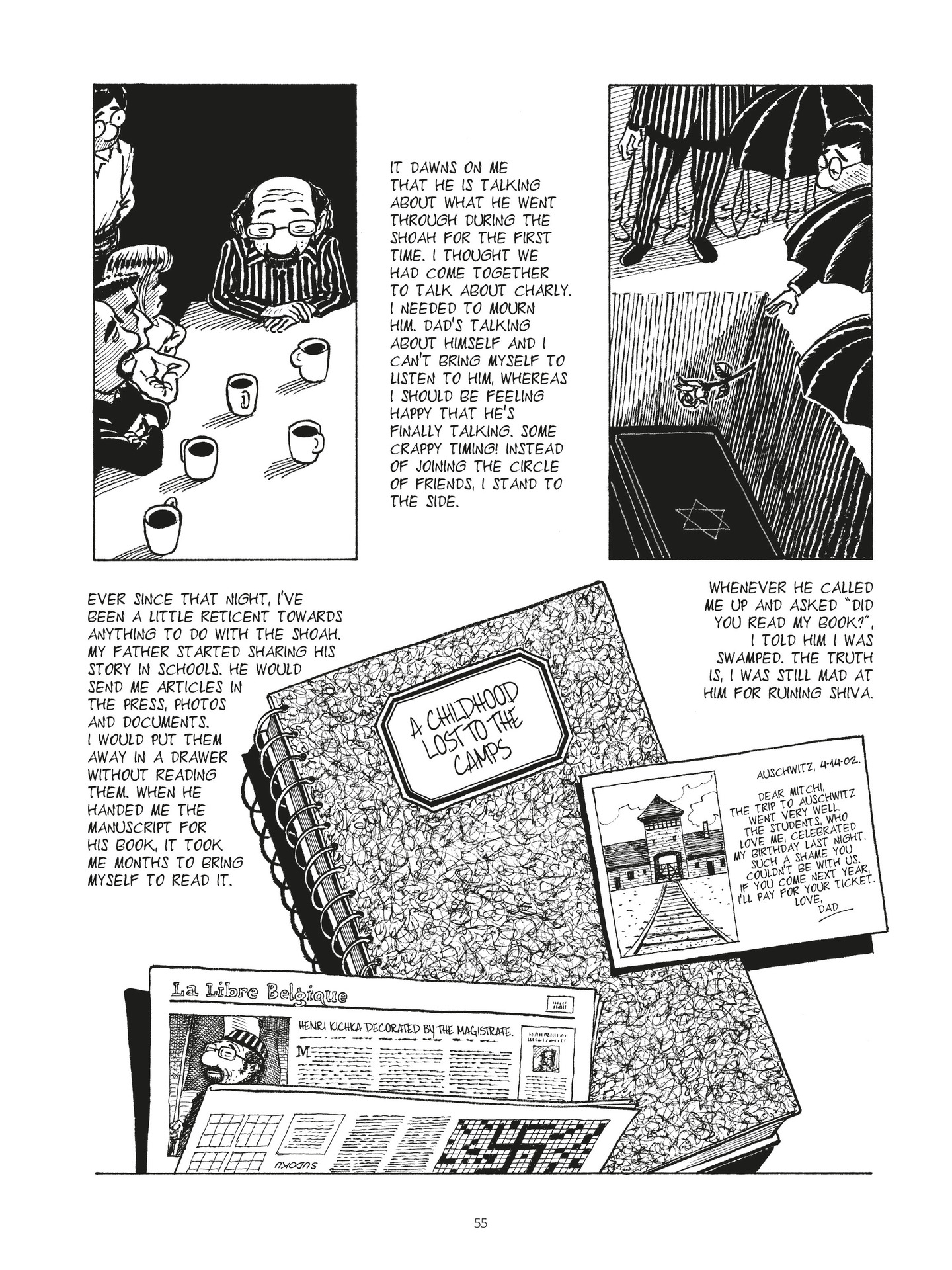 Read online Second Generation - The Things I Didn't Tell My Father comic -  Issue # Full - 53